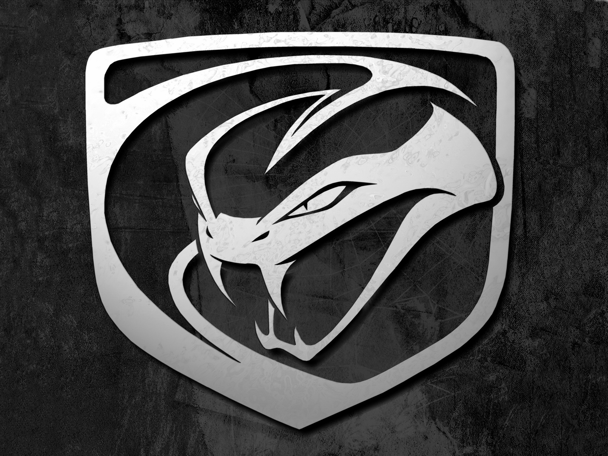 2048x1536 Dodge Viper Logo Stryker