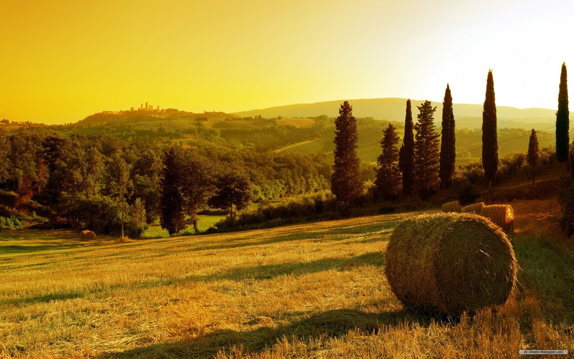 1920x1200 Free Nature wallpaper - Tuscany wallpaper -  wallpaper - Index 16