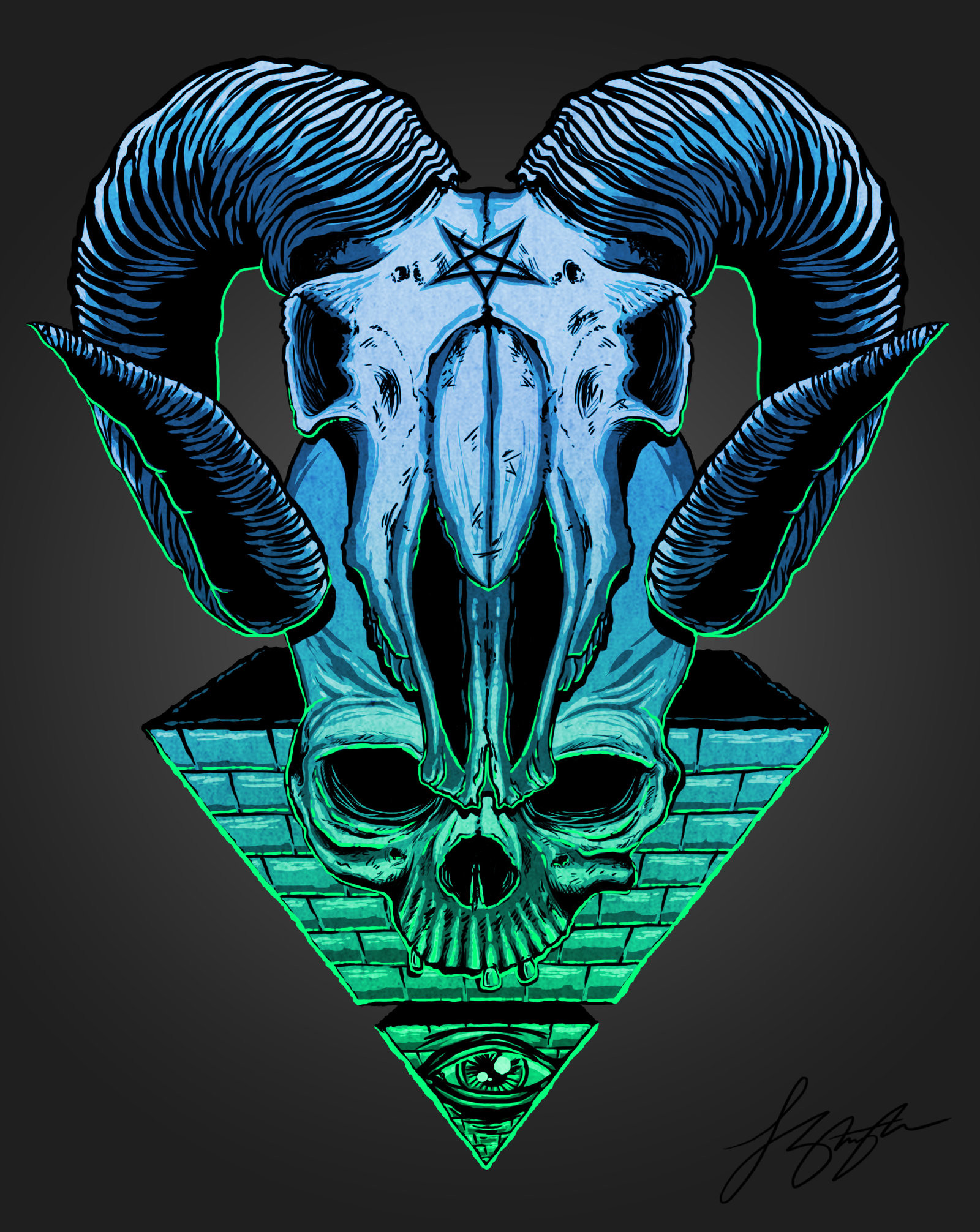 1600x2012 ... All seeing eye by liquid-venom