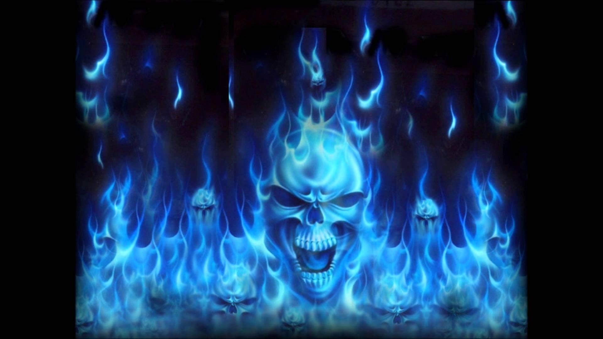 Flaming Skulls Wallpaper 59 Images