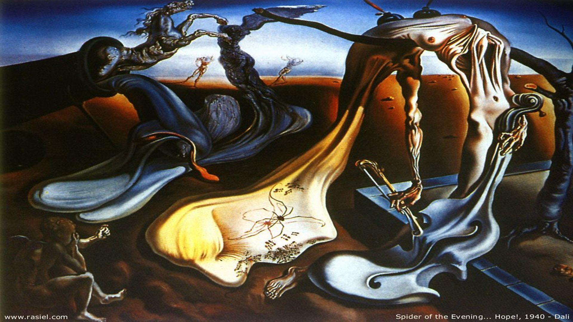 1920x1080 Salvador Dali Wallpapers, Painting, Art Wallpaper,