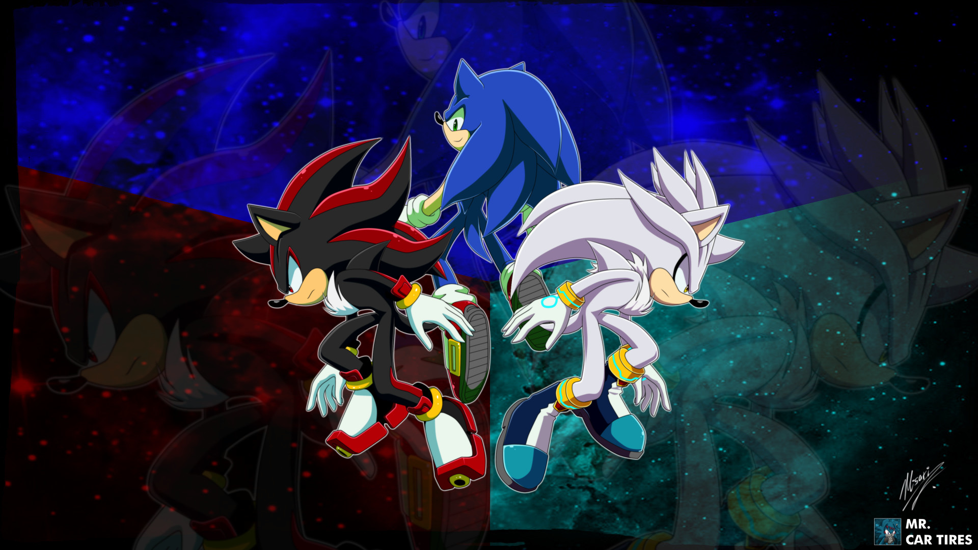 1920x1080 Pin by Anira Azire on Amy, Shadow, Sonic, Silver y todos sus amigos |  Pinterest