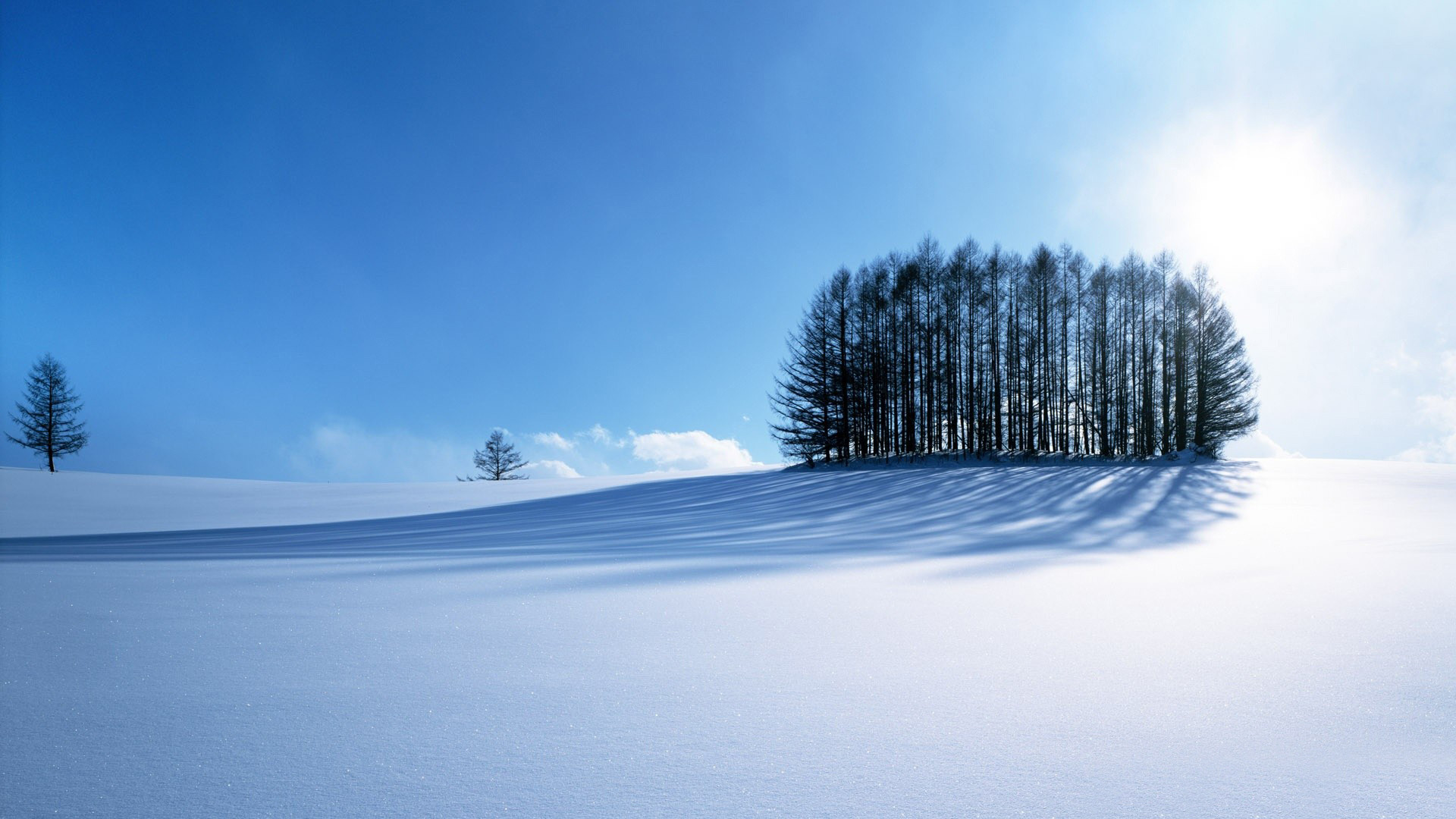1920x1080 Winter scenery HD pictures.