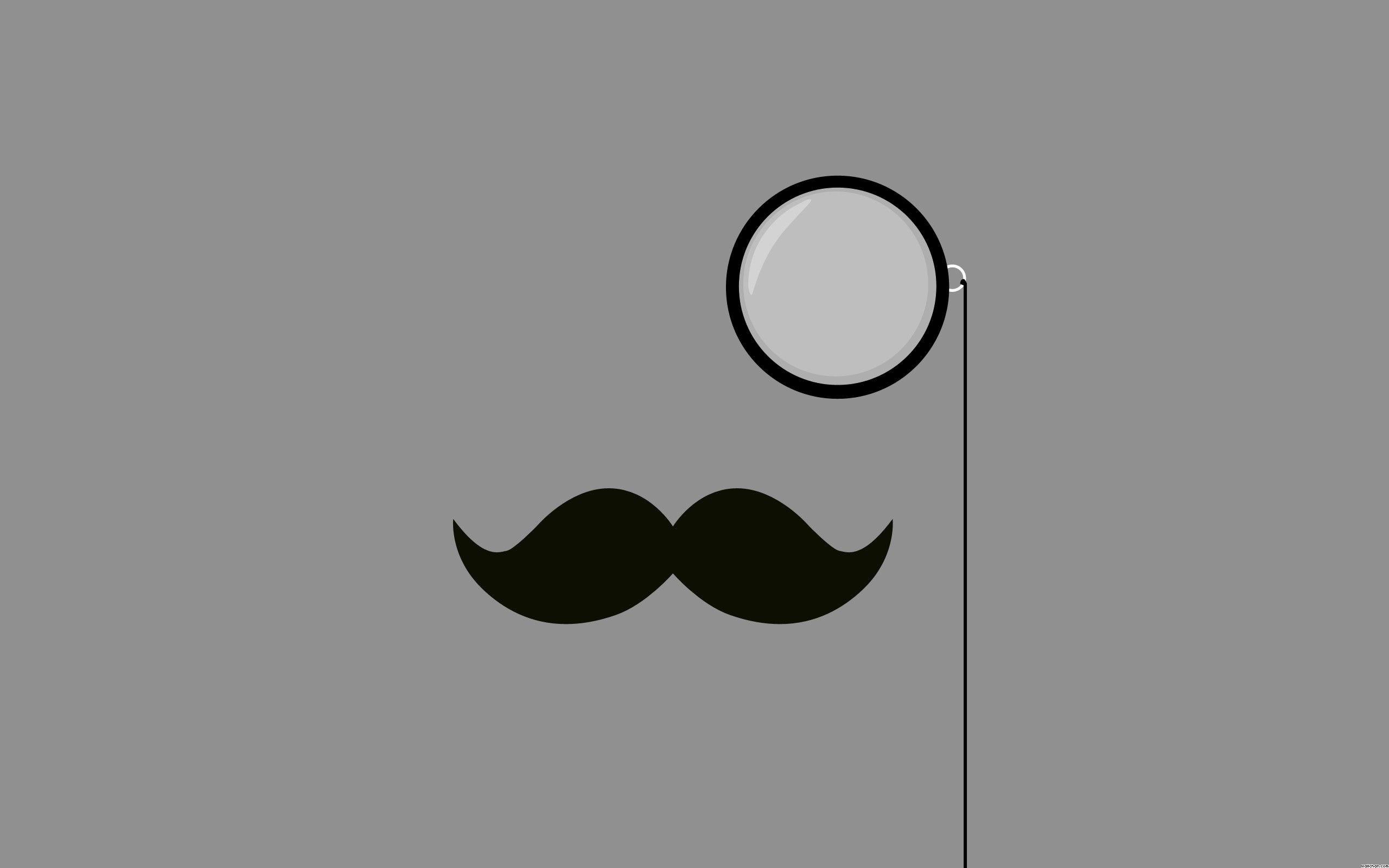 2560x1600 Cute Mustache Wallpapers on Tumblr ·①