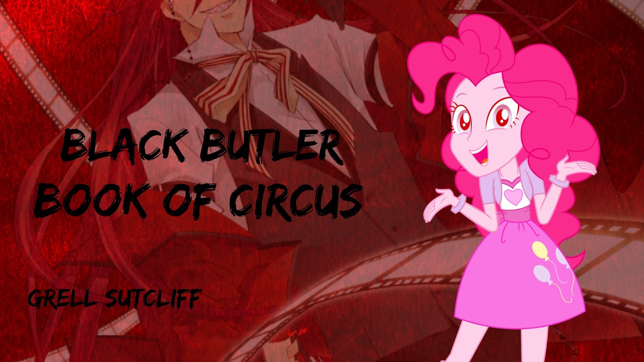 2048x1152 Black Butler: Book of Circus Grell Sutcliff Scene MLP Version