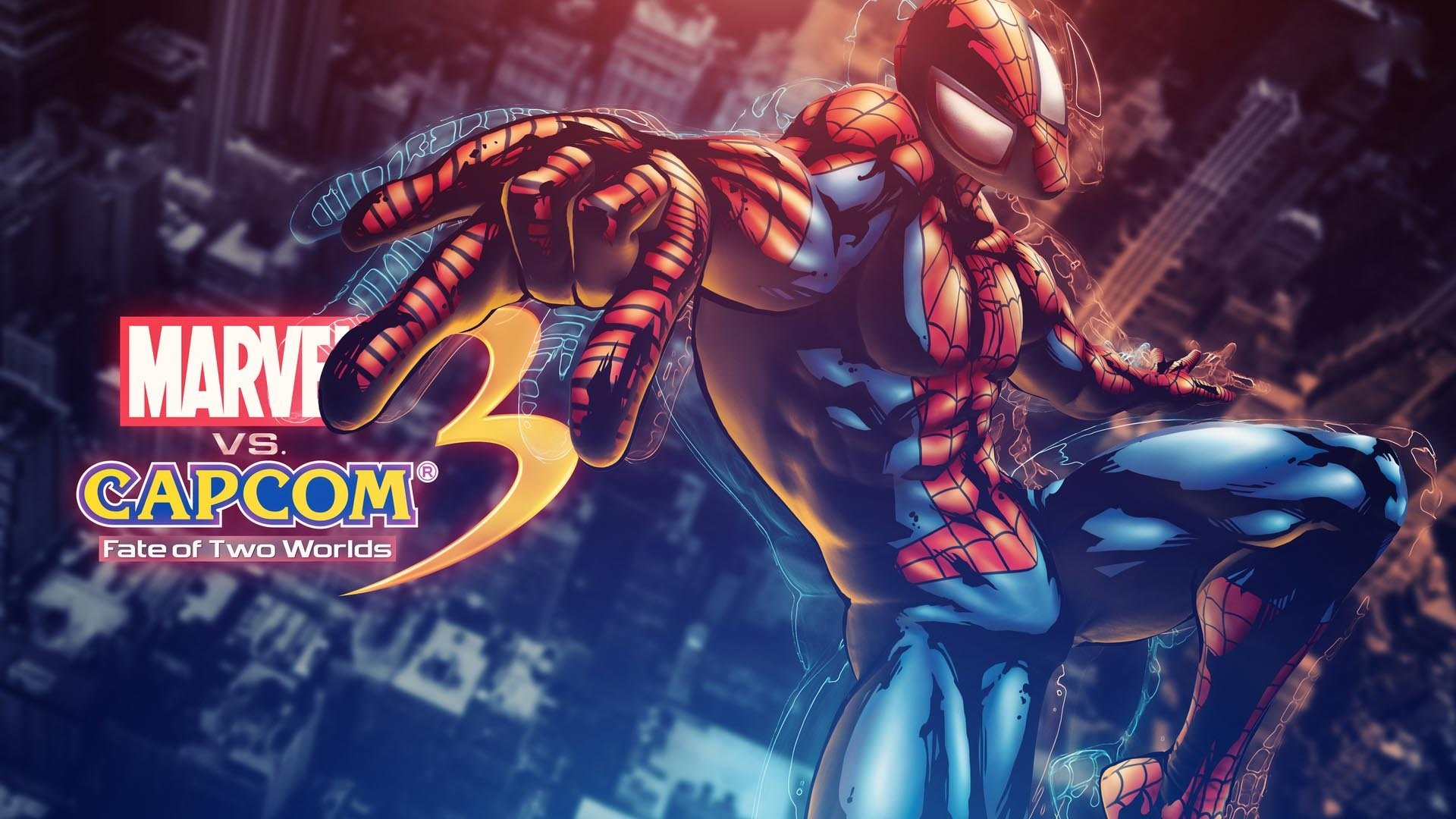 1920x1080 Popular characters like Ryu, Wolverine, Akuma, Iron Man, Spider-Man, Dante,  Deadpool and loads more.