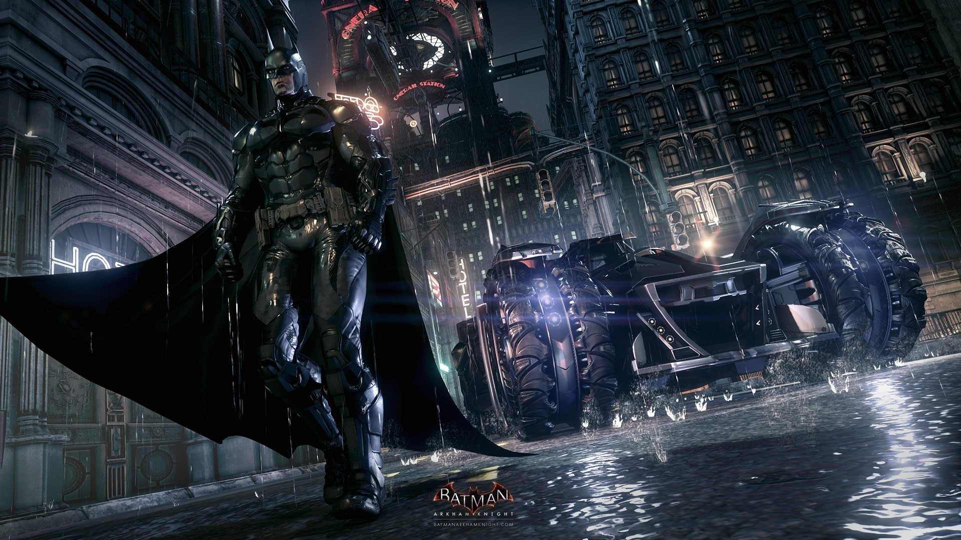 1920x1080 Batman Arkham Knight Jeux Video Fond Ecran Wallpaper