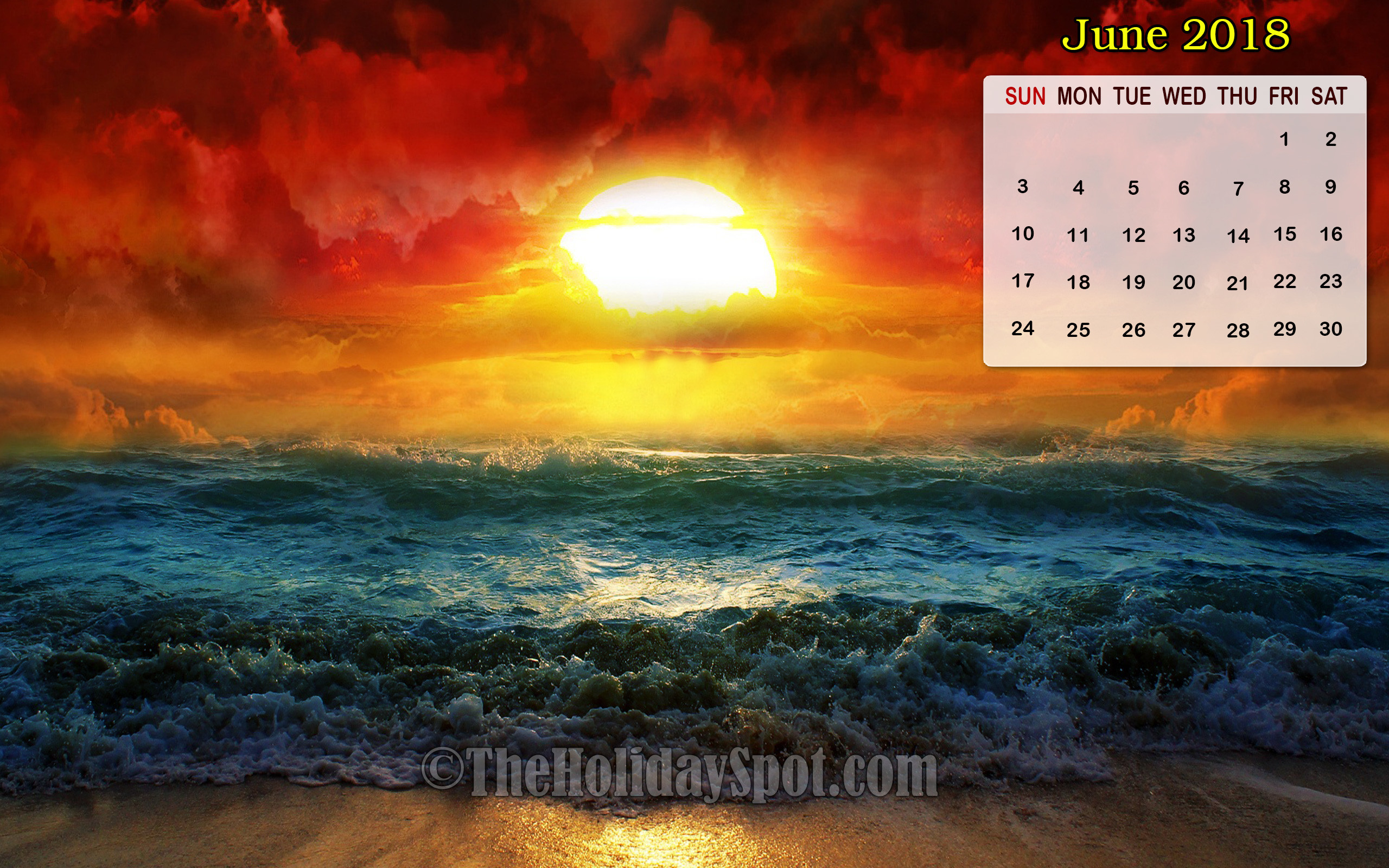 Calendar Wallpaper Pc : Desktop wallpapers calendar june  images