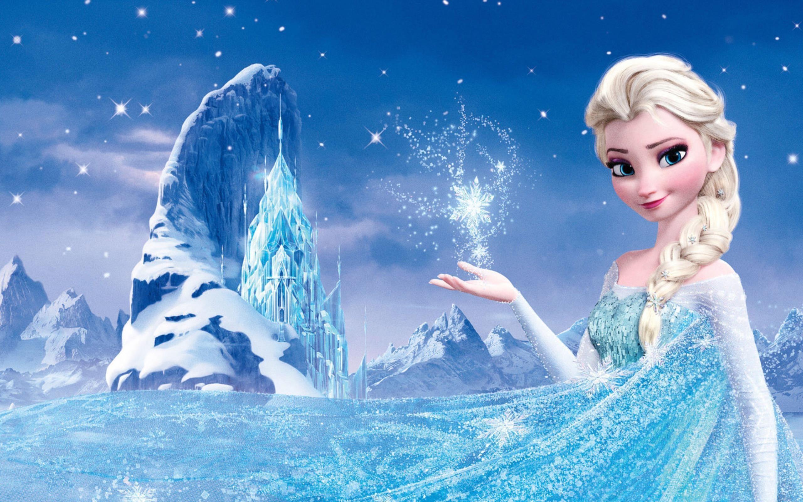 Frozen fever elsa wallpaper 74 images for Frozen disegni