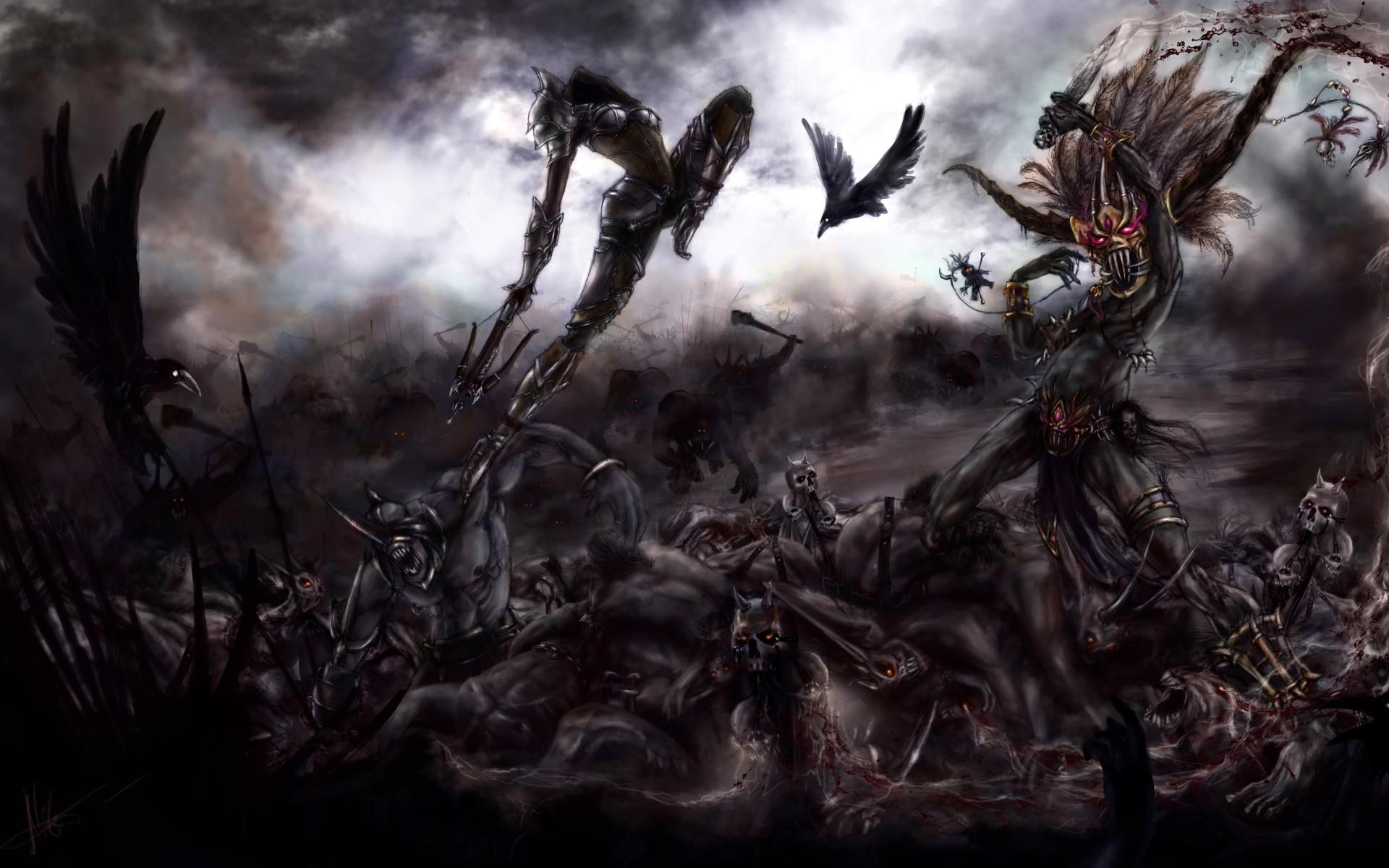 Demon Hunter Wallpaper 74 Images