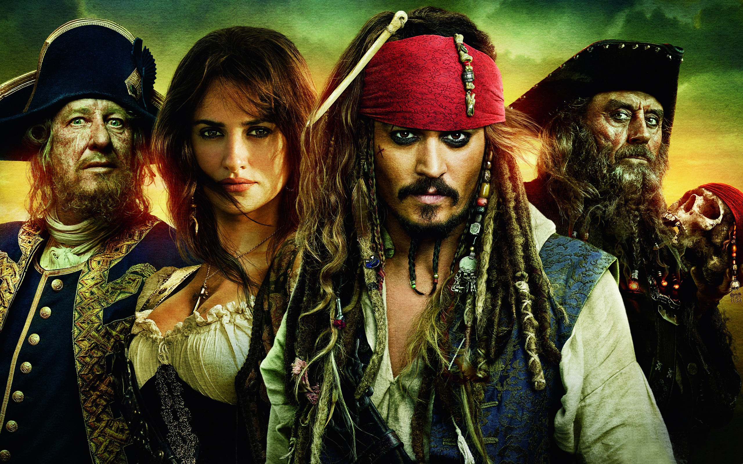 2560x1600 Pirates Of The Caribbean Wallpaper Free #Dzk