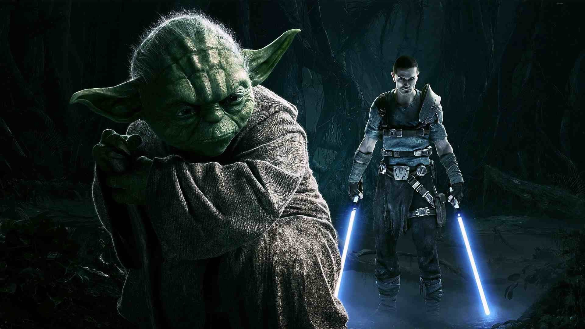 1920x1080 Star Wars: The Force Unleashed, Yoda, Starkiller Wallpapers HD / Desktop  and Mobile Backgrounds