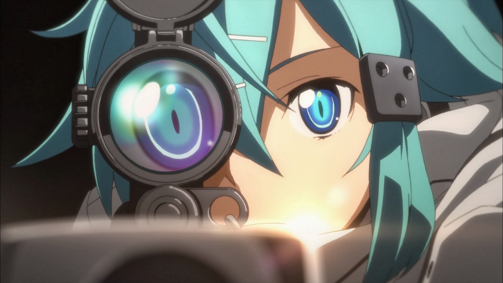 1920x1080 SAO 2 Gun Gale Online Sinon 6o HD Wallpaper