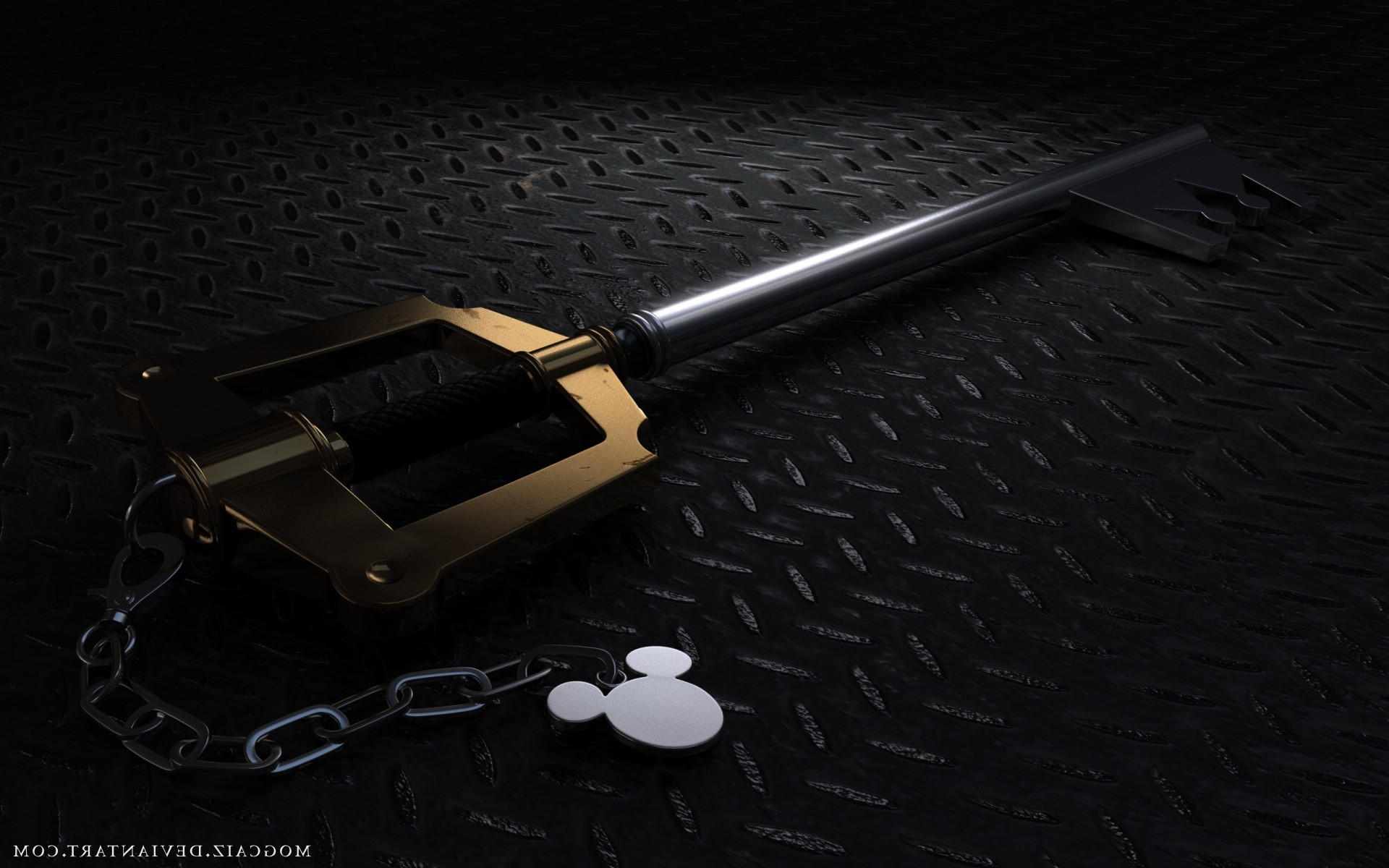 1920x1200 Kingdom Hearts Keyblade Wallpaper