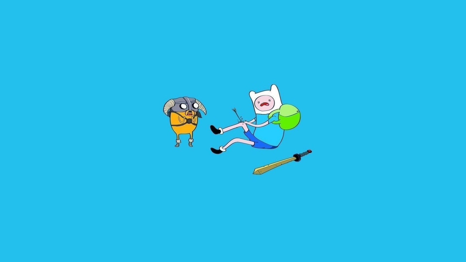 1920x1080  TV Show - Adventure Time Finn the Human Jake the Dog Beemo  Wallpaper