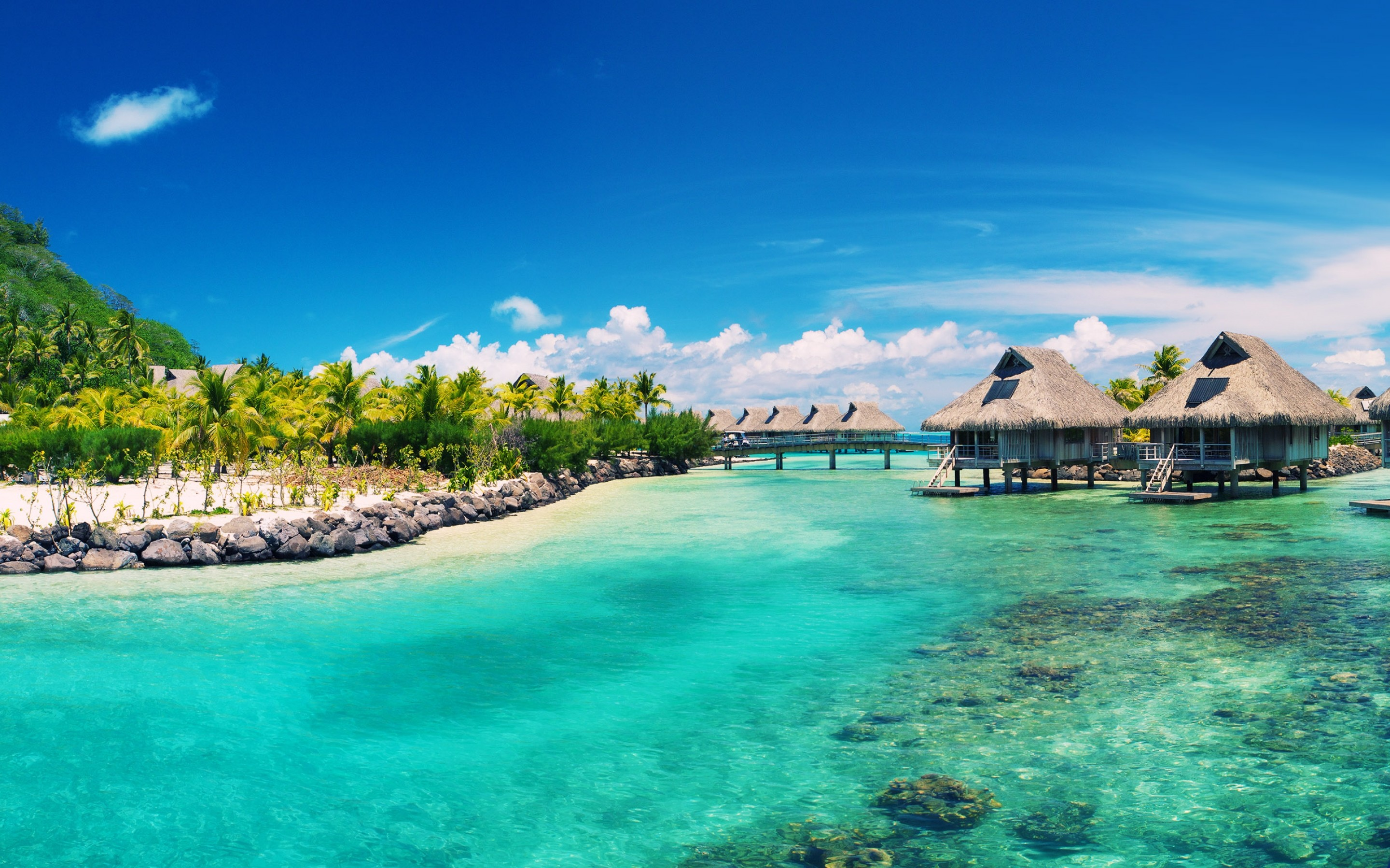 2880x1800 Caribbean HD Wallpaper.