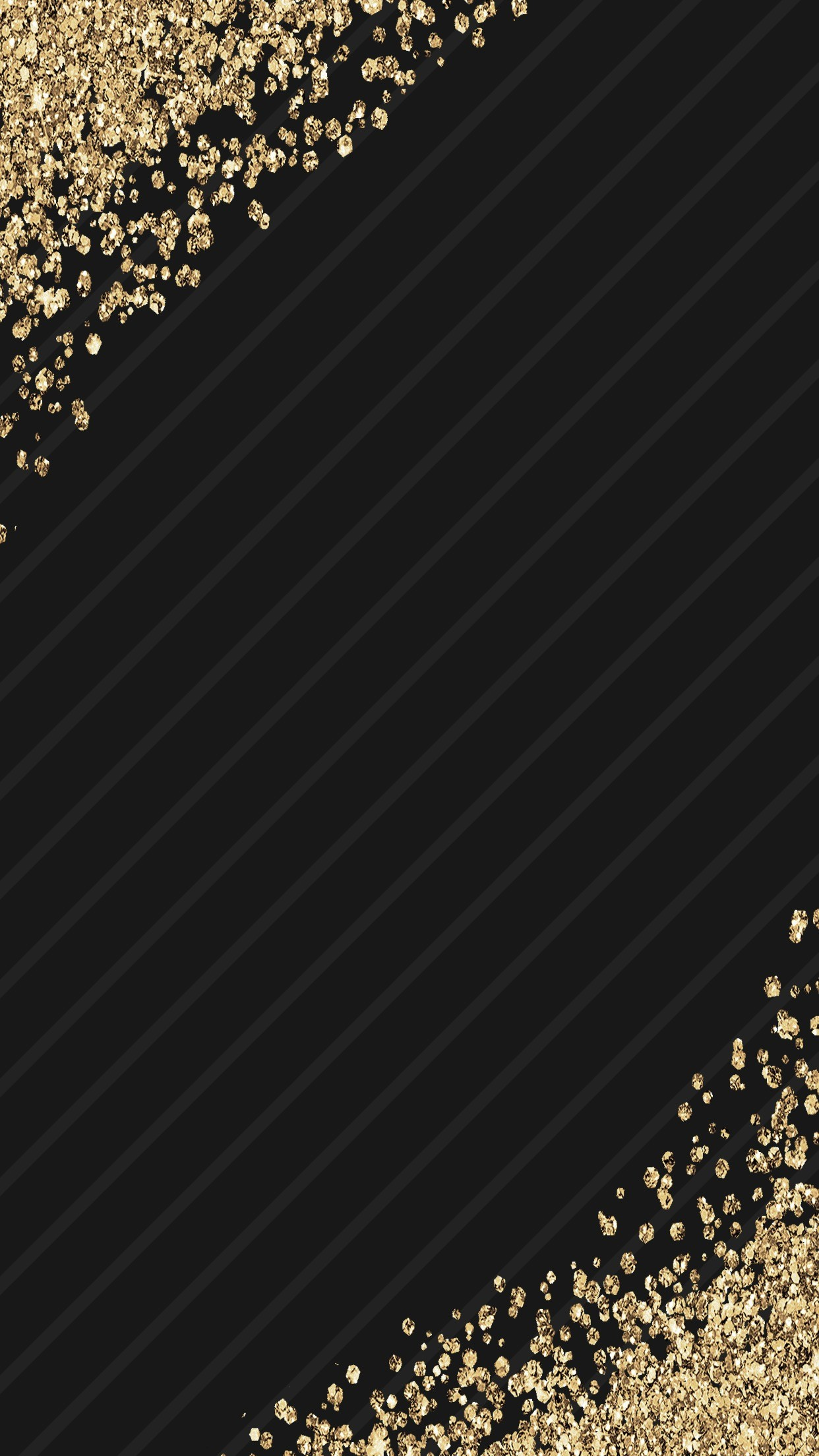 1920x1200 Trendy Black And Gold Bedroom Wallpaper In