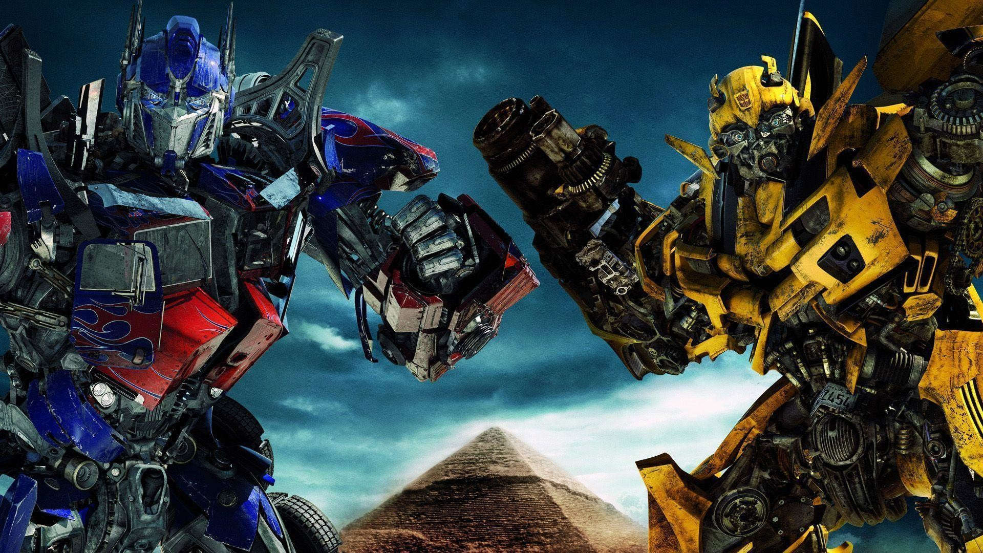1920x1080 Optimus Prime Hd Wallpaper Vs Bumble Bee Best #5583 Wallpaper .