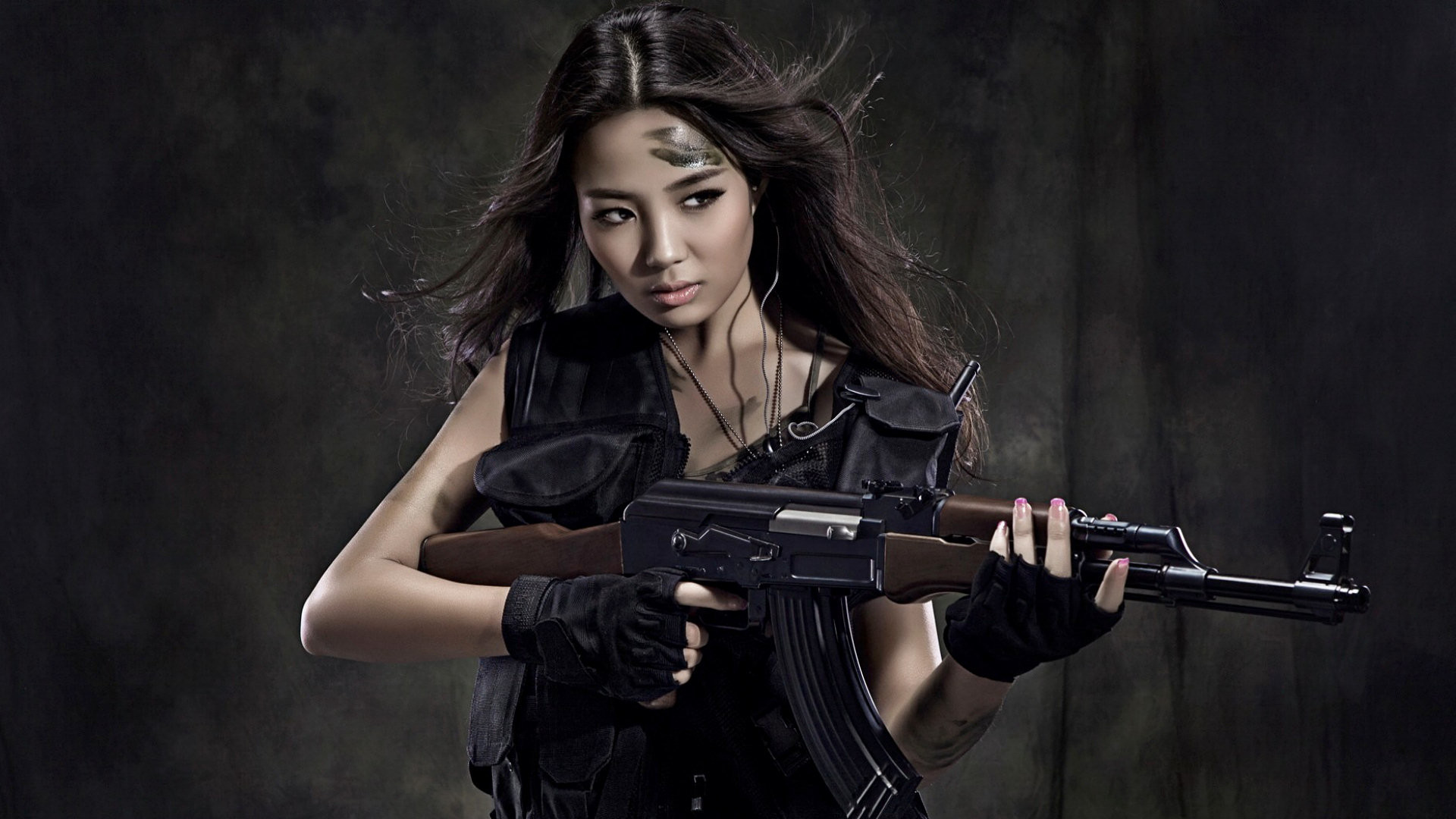 Girl With Gun Wallpaper 55 Images