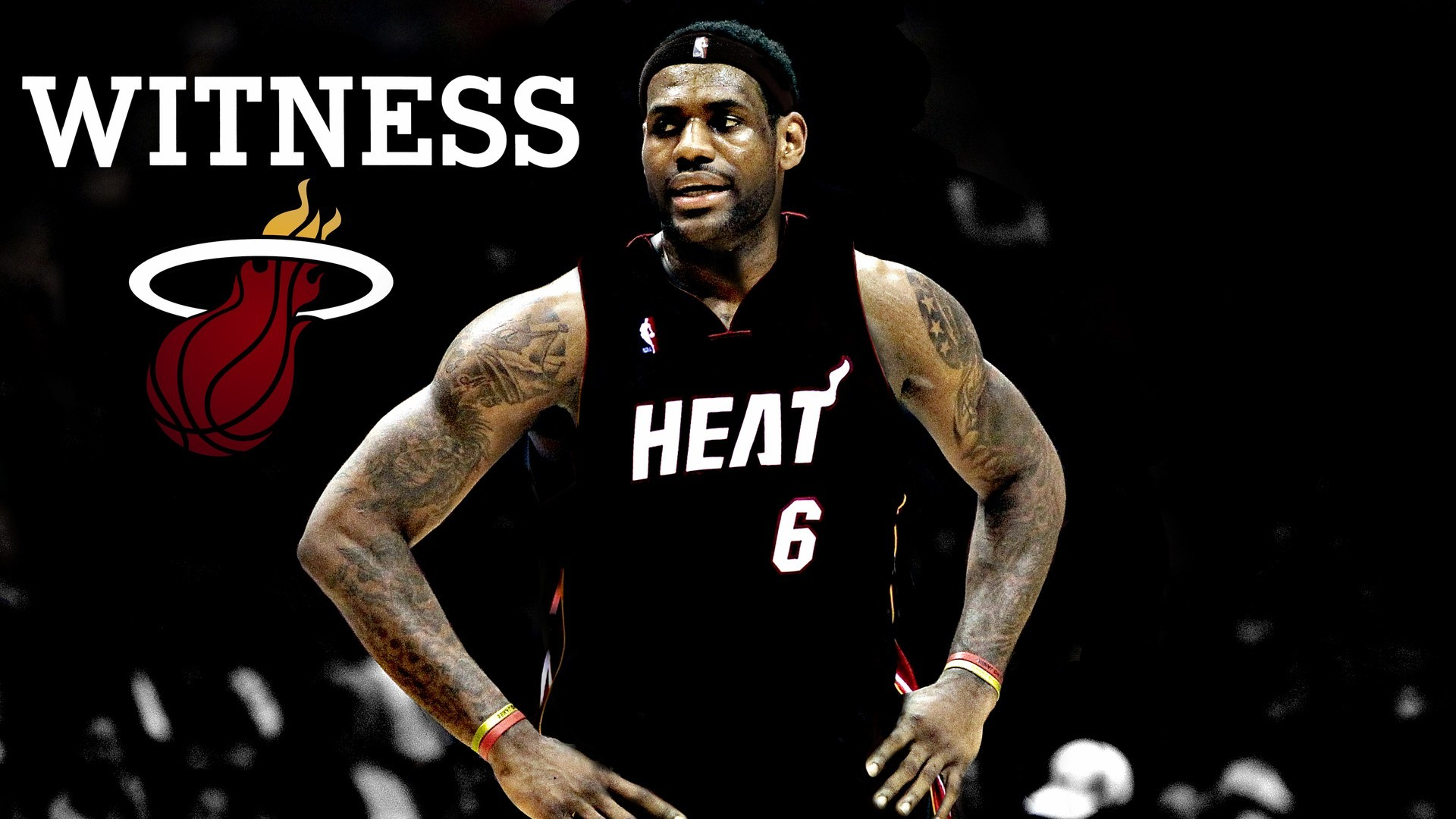 1920x1080 Lebron James Miami Heat HD Wallpaper