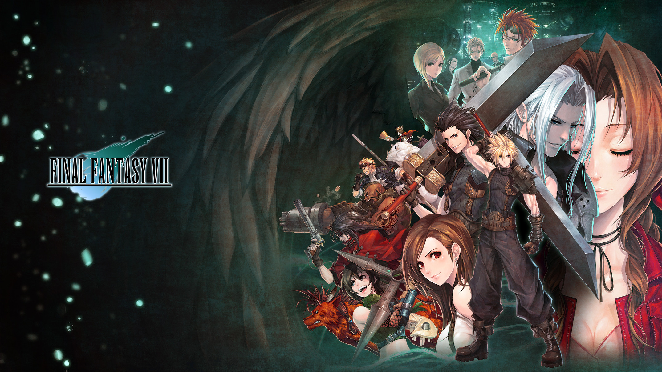 2149x1209 FF VIIAn amazing Final Fantasy 7 wallpaper by E.viL ...