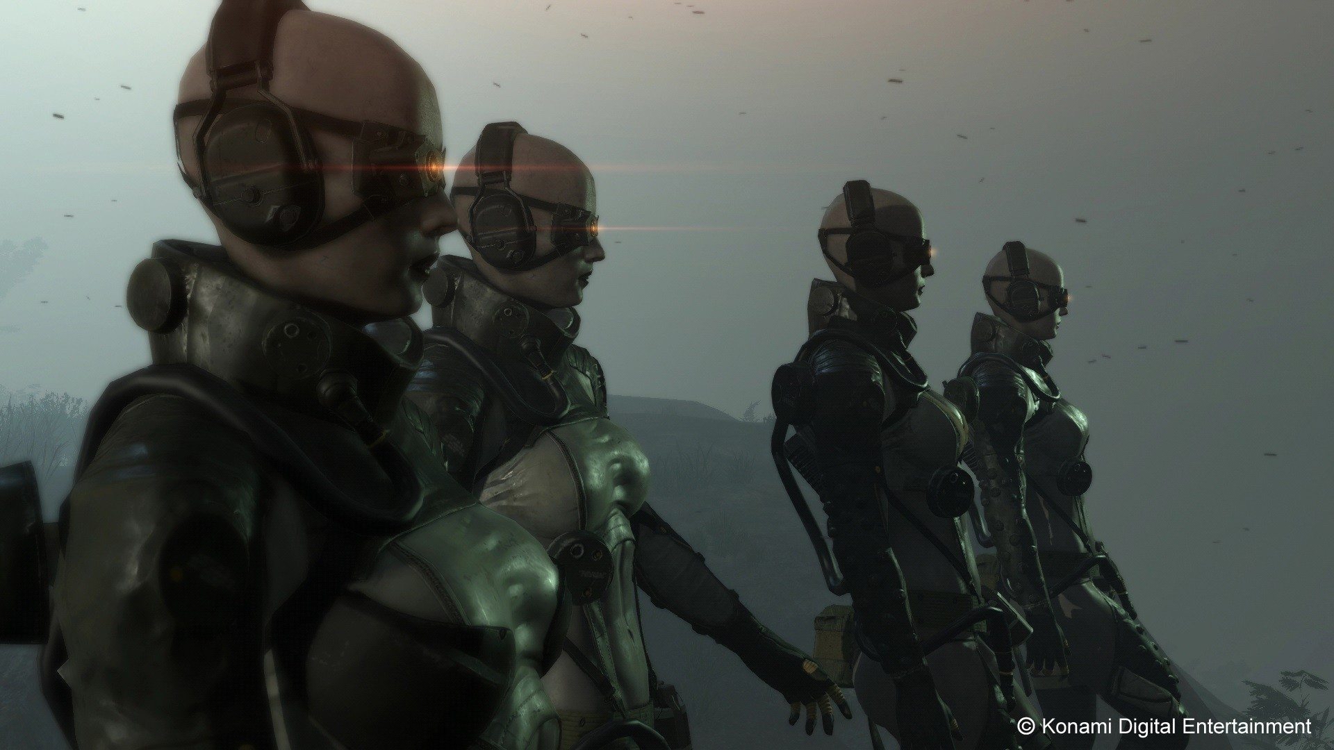 "1920x1080 MGSV SpoilersSomehow missed this picture of the ""Skulls"" which might tell  us something very interesting about them."