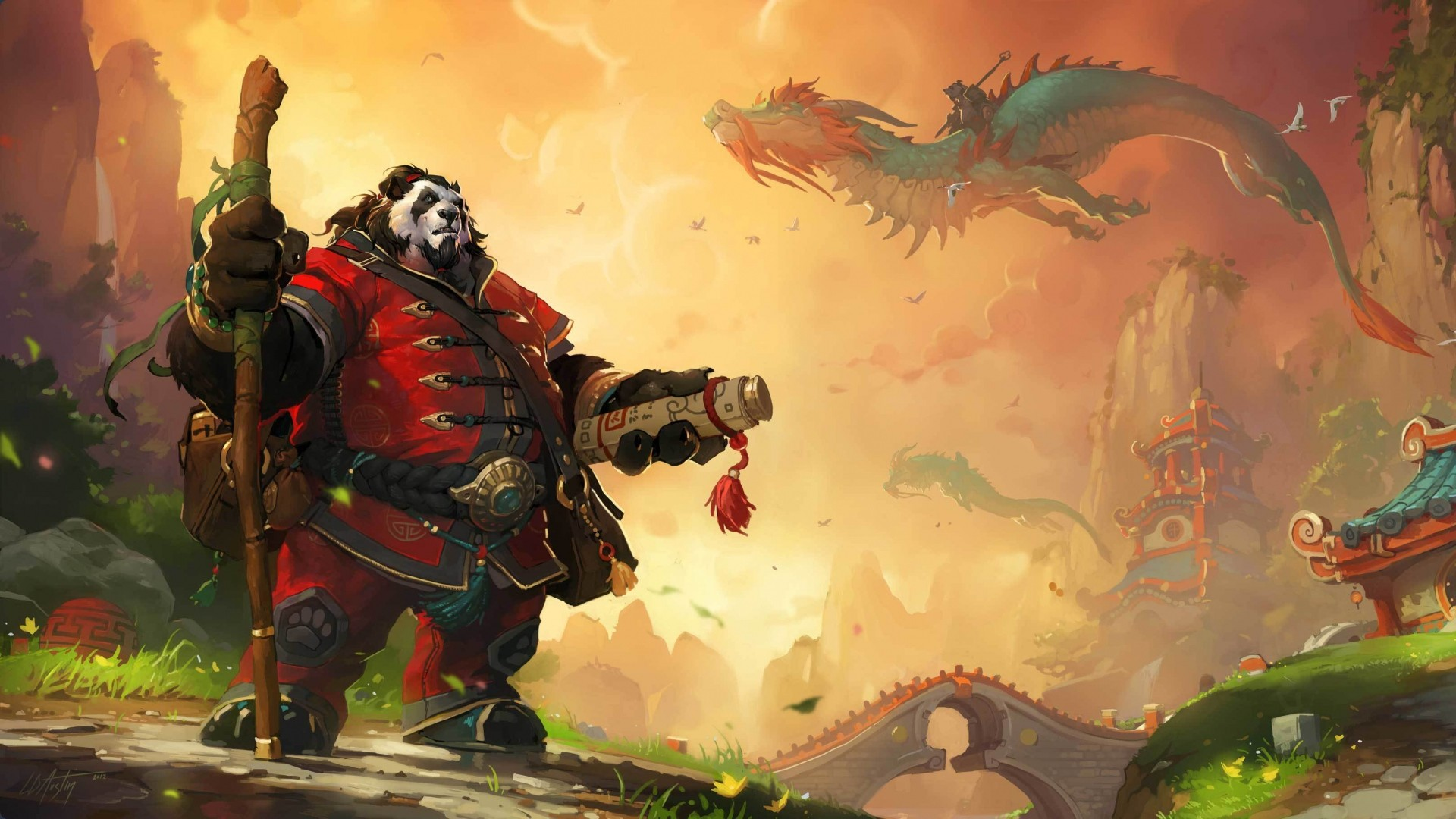 1920x1080 Full HD 1080p Mists of pandaria Wallpapers HD, Desktop Backgrounds