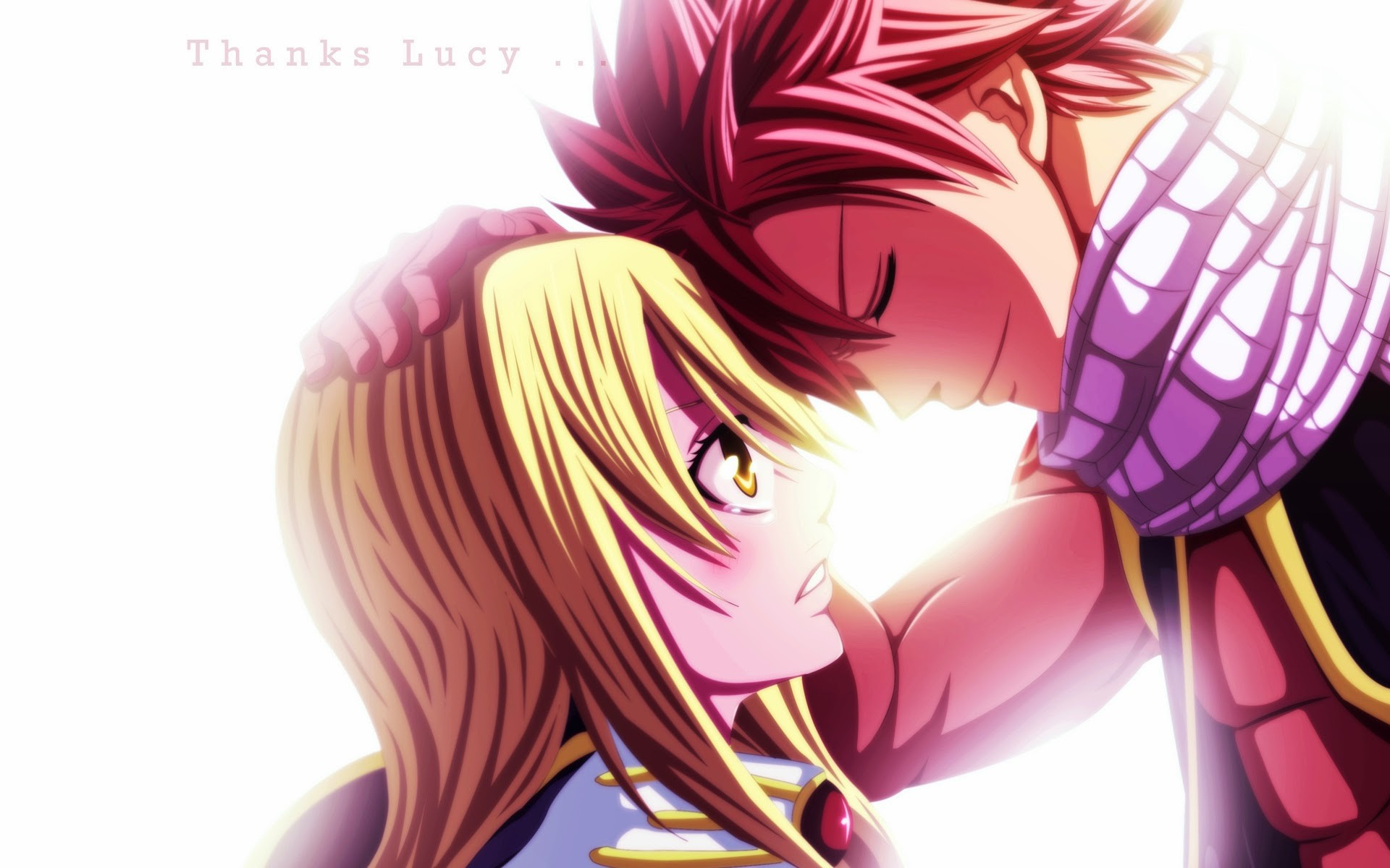 1920x1200 lucy heartfilia and natsu dragneel fairy tail anime hd wallpaper