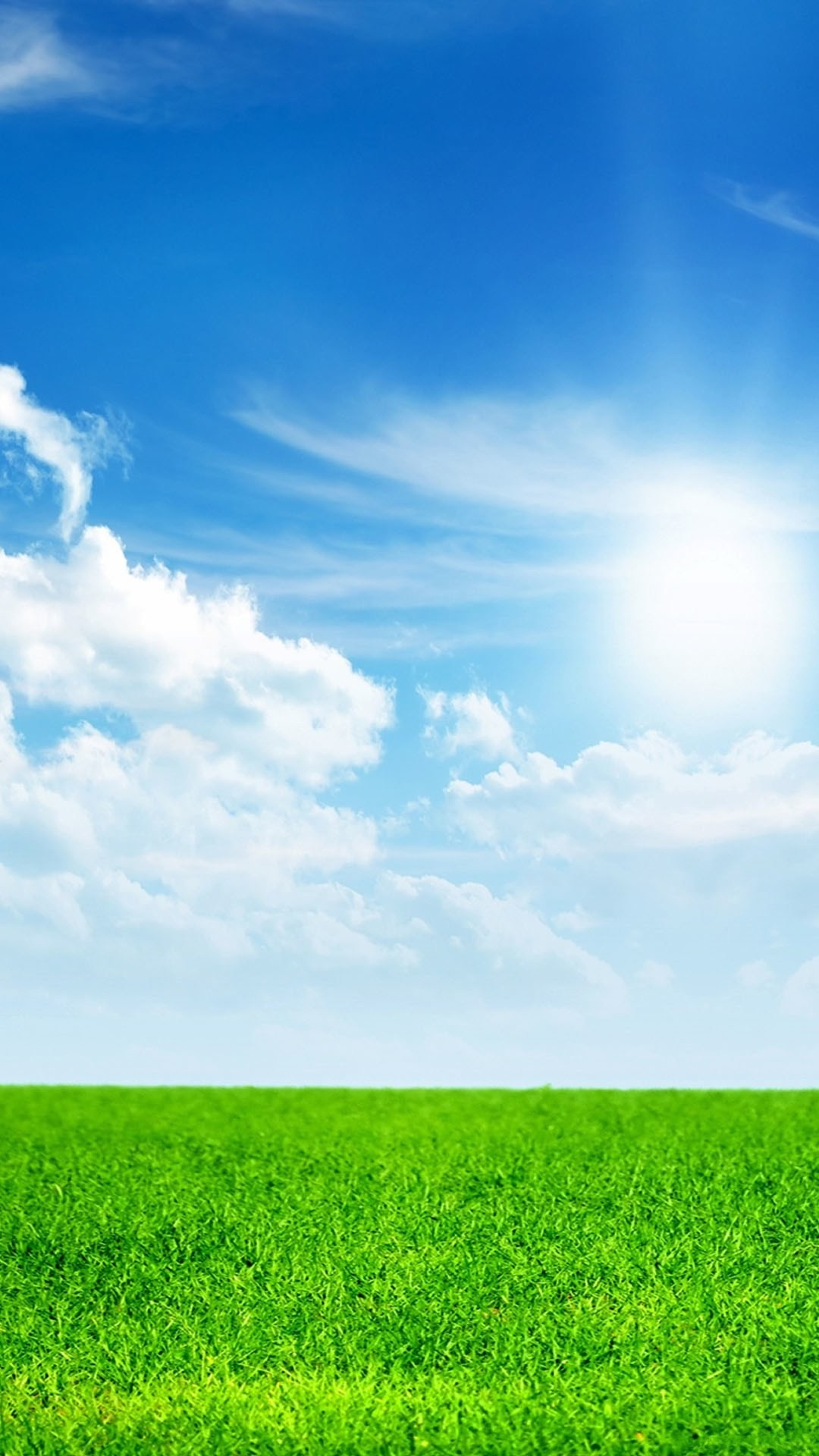 grass and sky wallpaper (71+ images)
