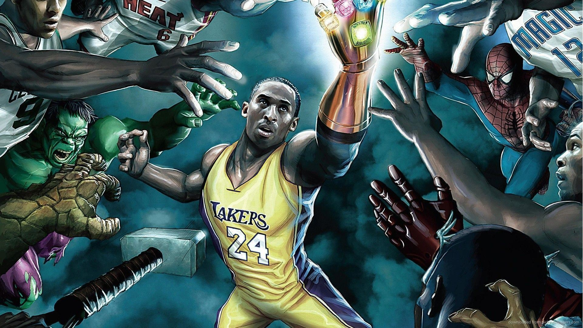 3840x2160 Custom Large Kobe Bryant Image 4K Wallpaper HD