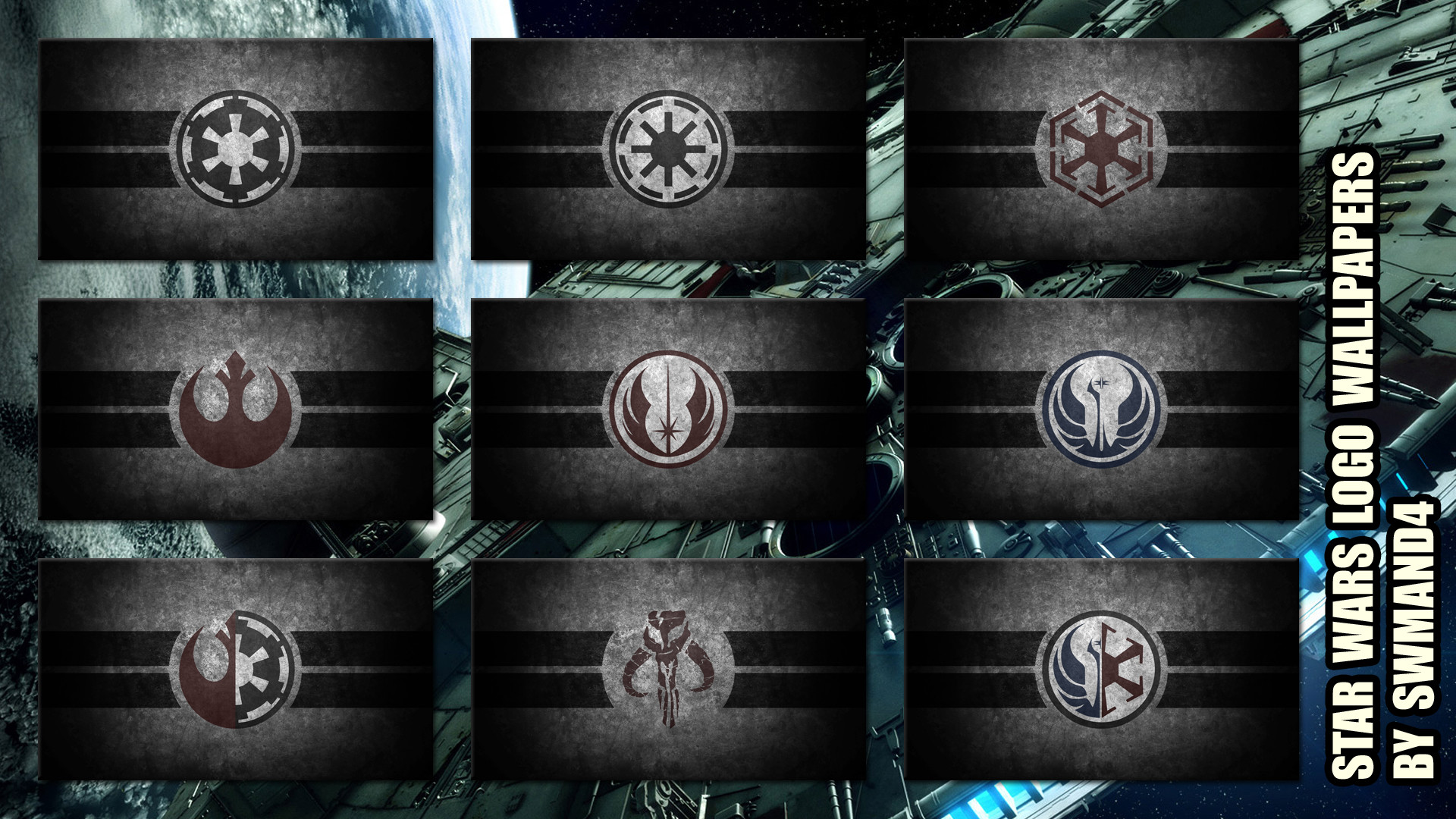 1920x1080 Star Wars Logos Wallpapers by swmand4 Star Wars Logos Wallpapers by swmand4
