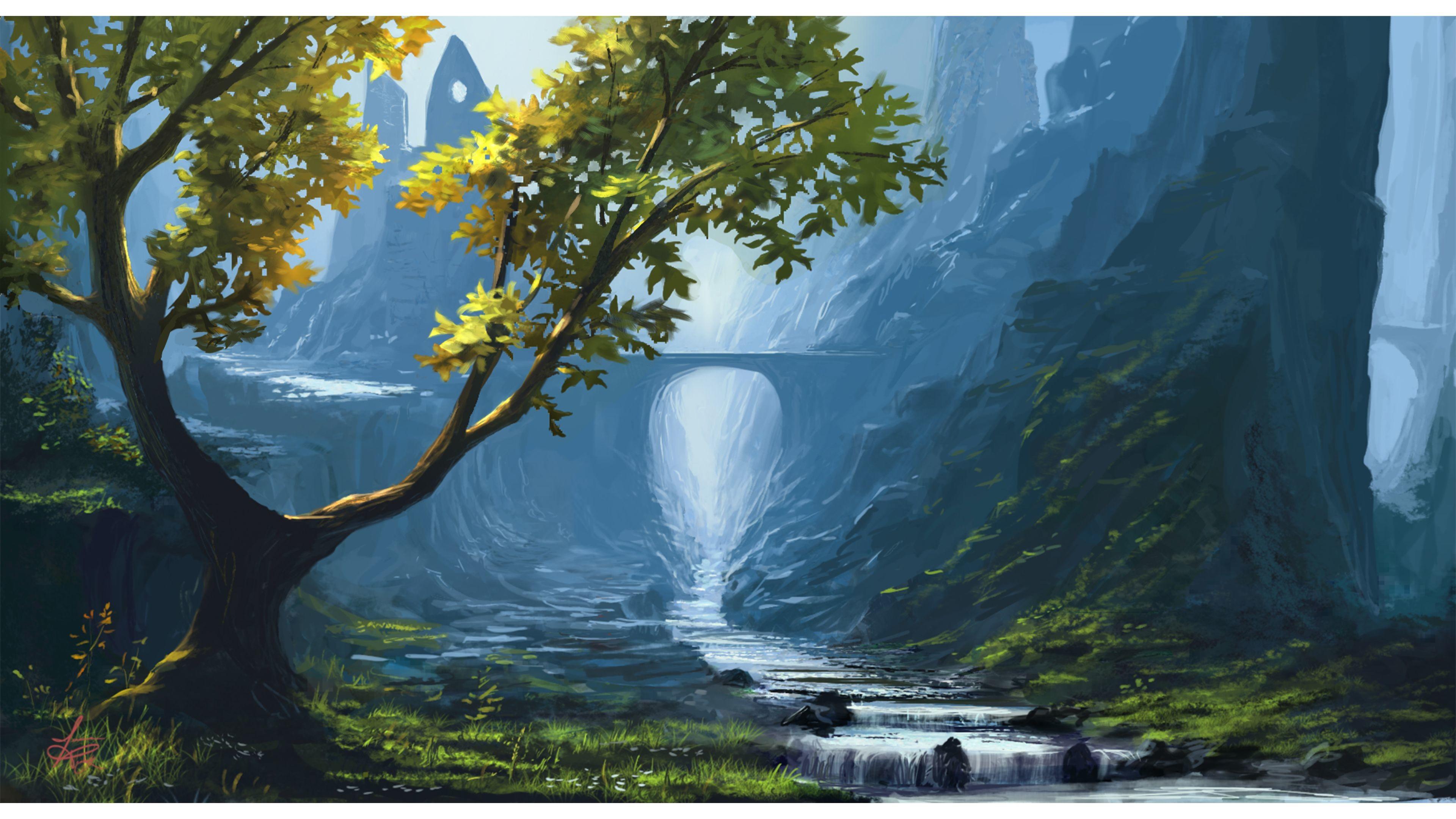 Fantasy nature wallpapers hd 71 images - 1920x1080 wallpaper 4k ...