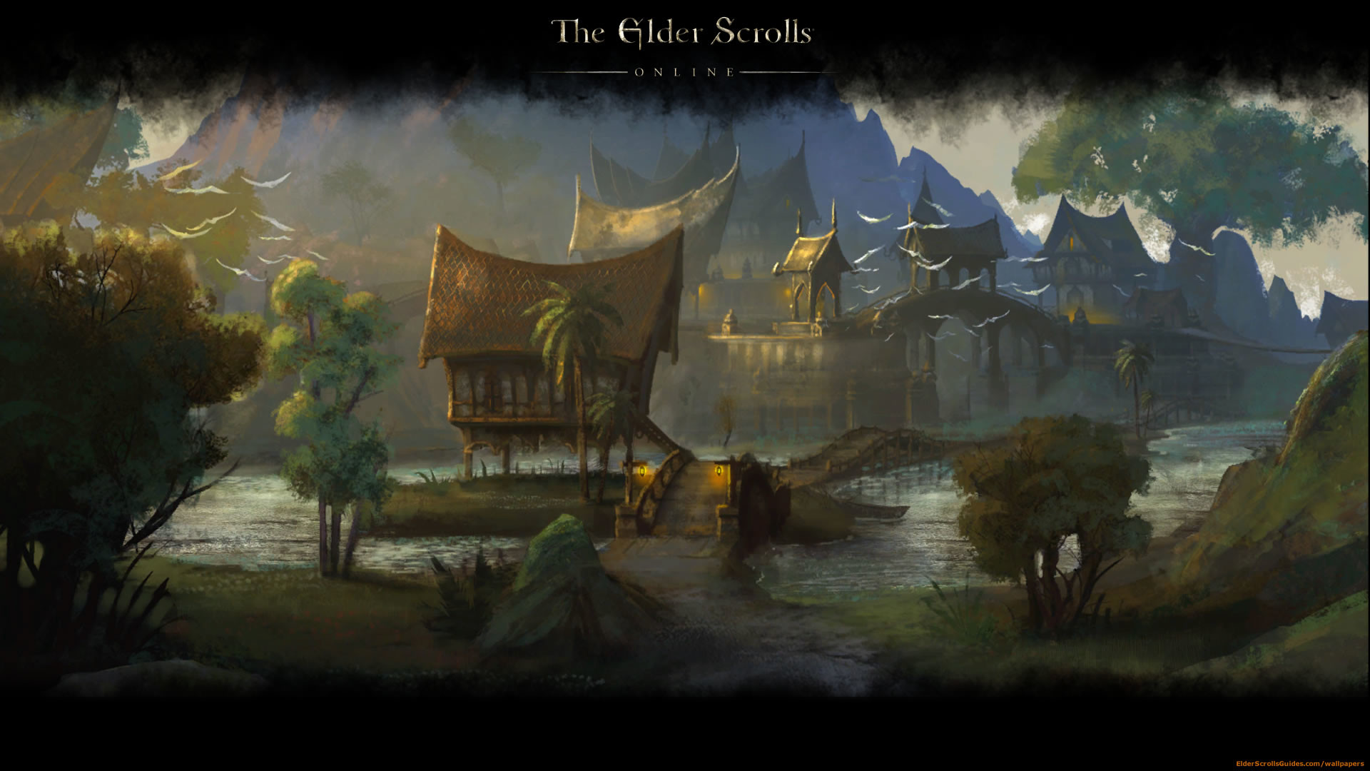 The Elder Scrolls Wallpaper: Eso HD Wallpapers (86+ Images