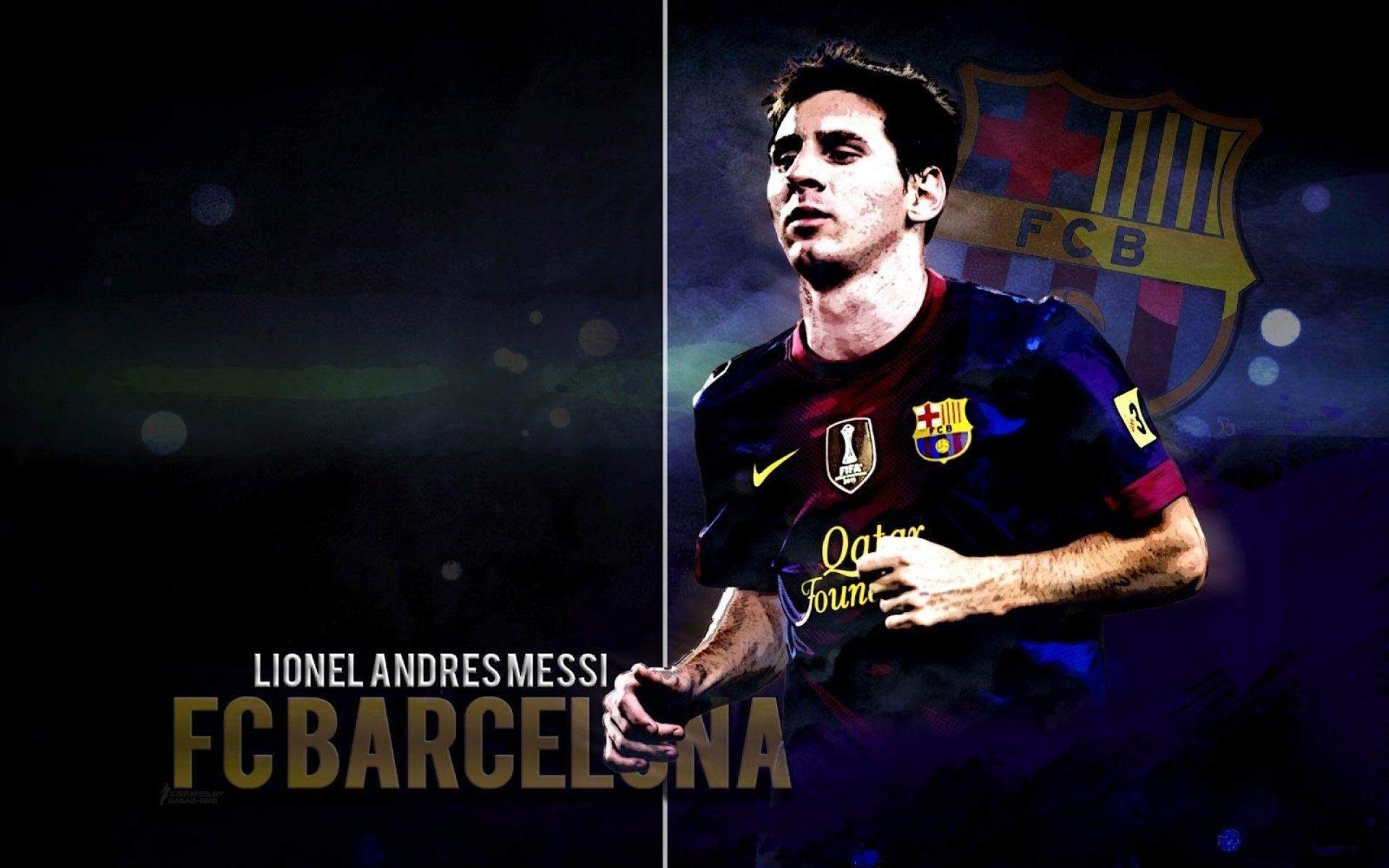 1920x1200 Lionel Messi Wallpapers HD download free | HD Wallpapers .