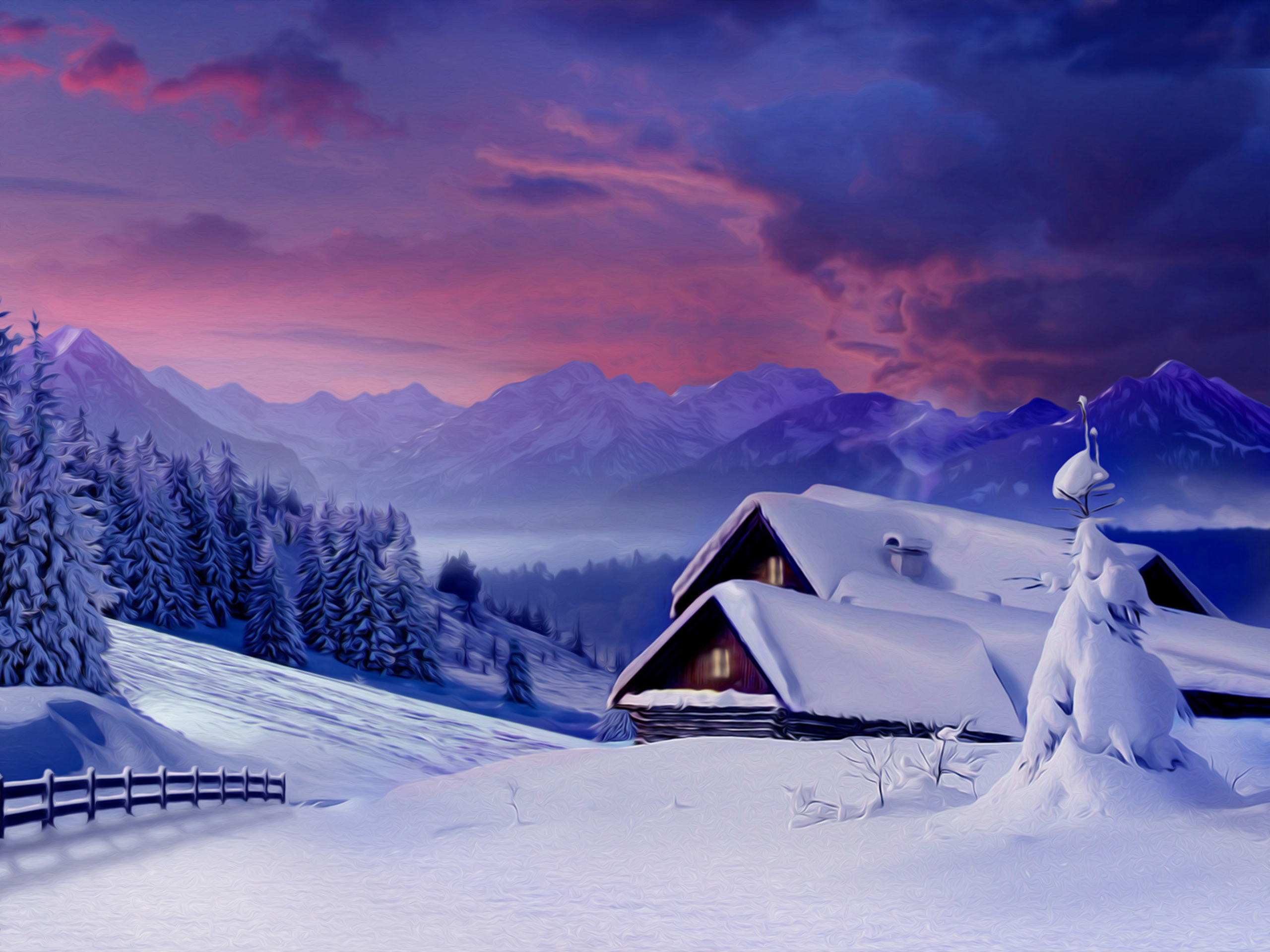 2560x1920 winter snow scene pictures | Snow Wallpapers | Desktop Wallpapers - Page 10
