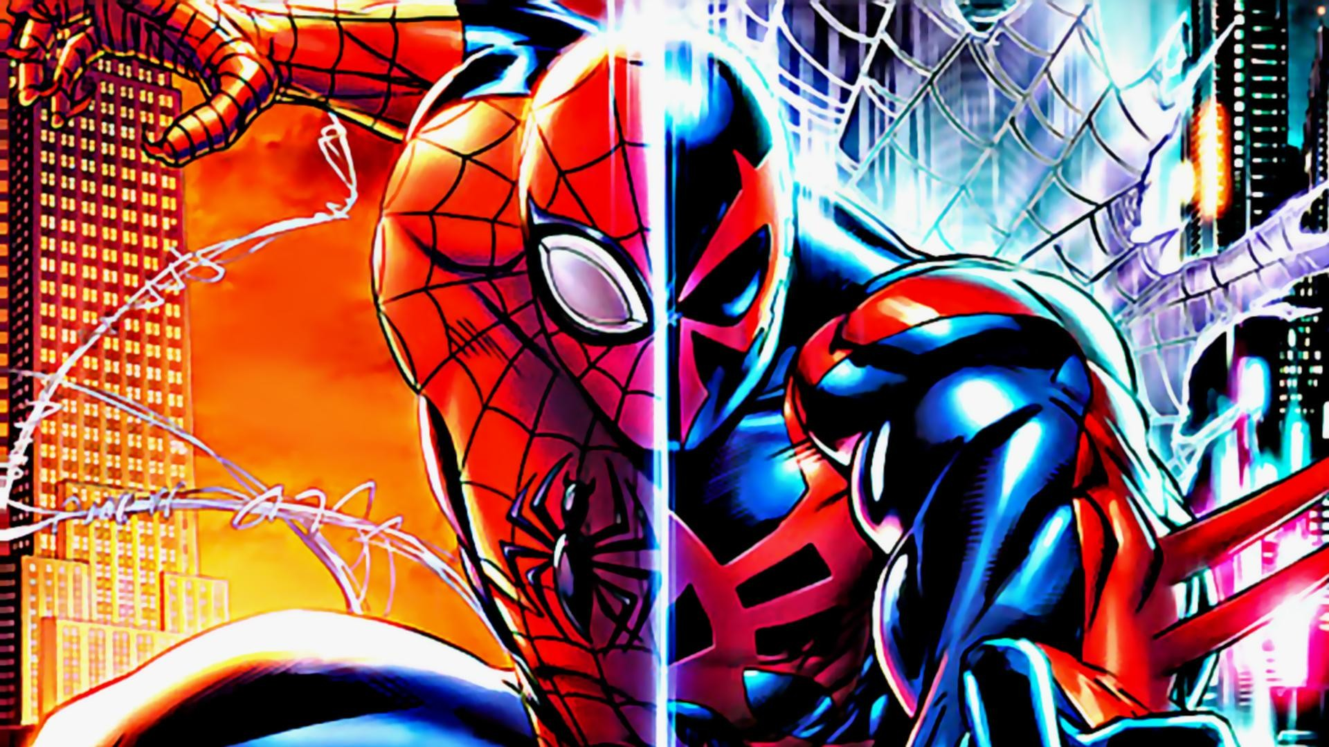 10 Top Spider Man 2099 Wallpaper Full Hd 1080p For Pc Desktop: Spider Man Comic Wallpaper (63+ Images