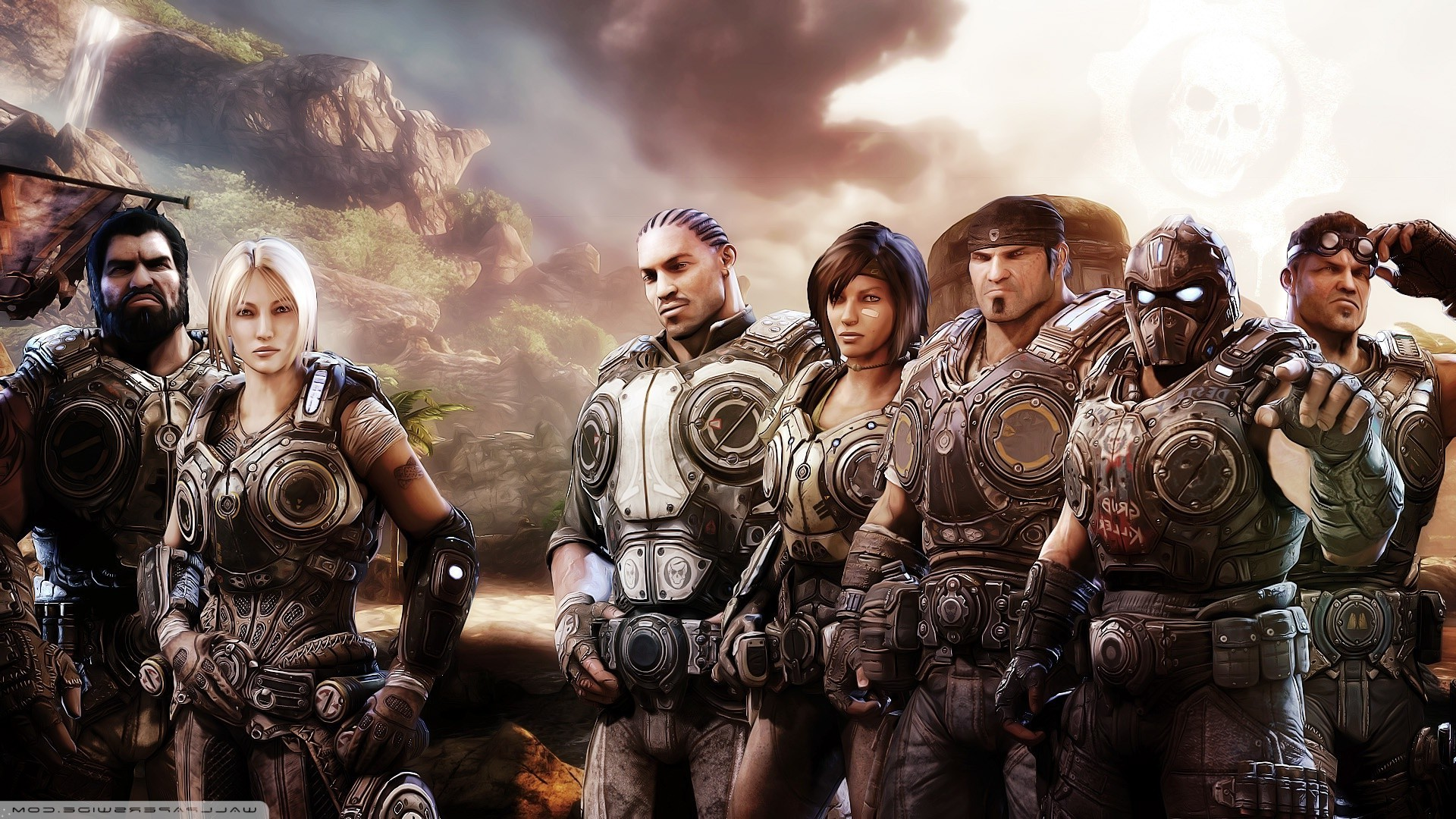 1920x1080 Gears Of War, Video Games, Gears Of War 3 Wallpapers HD / Desktop and  Mobile Backgrounds