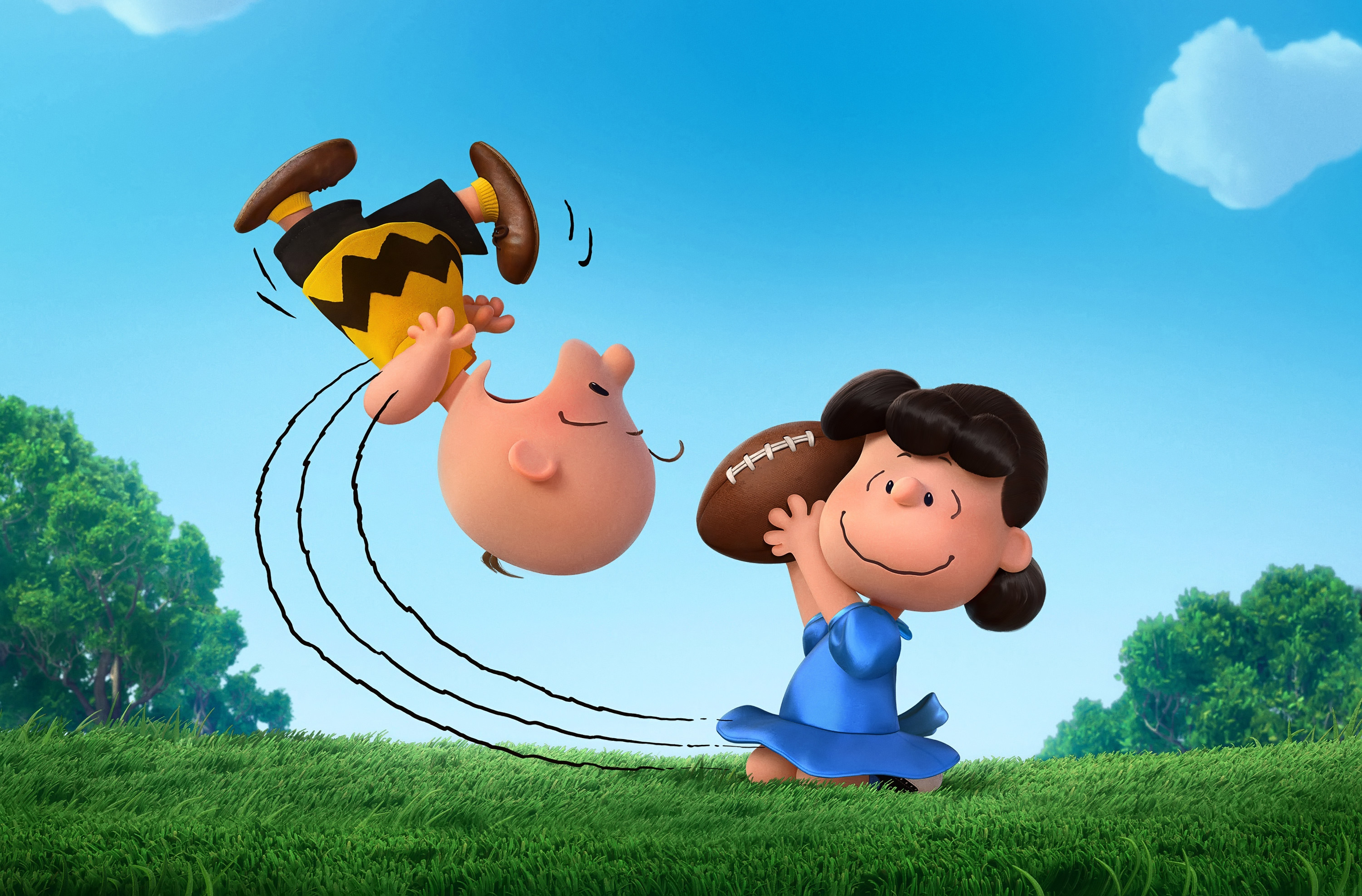 3000x1975 The Peanuts Movie, Lucy, Charlie Brown, Animation