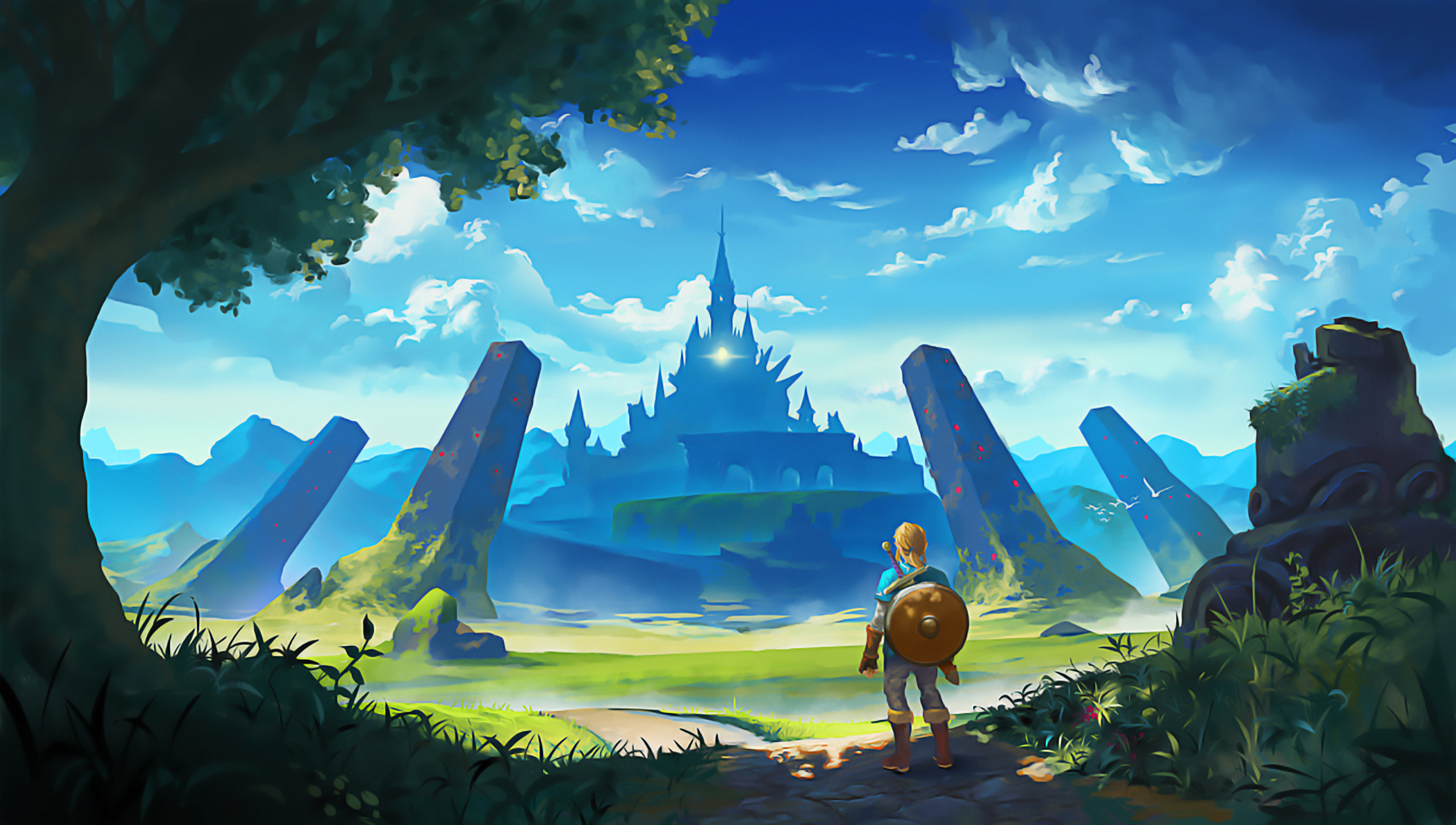 2560x1600 Zelda Wallpapers HD 1920x1080