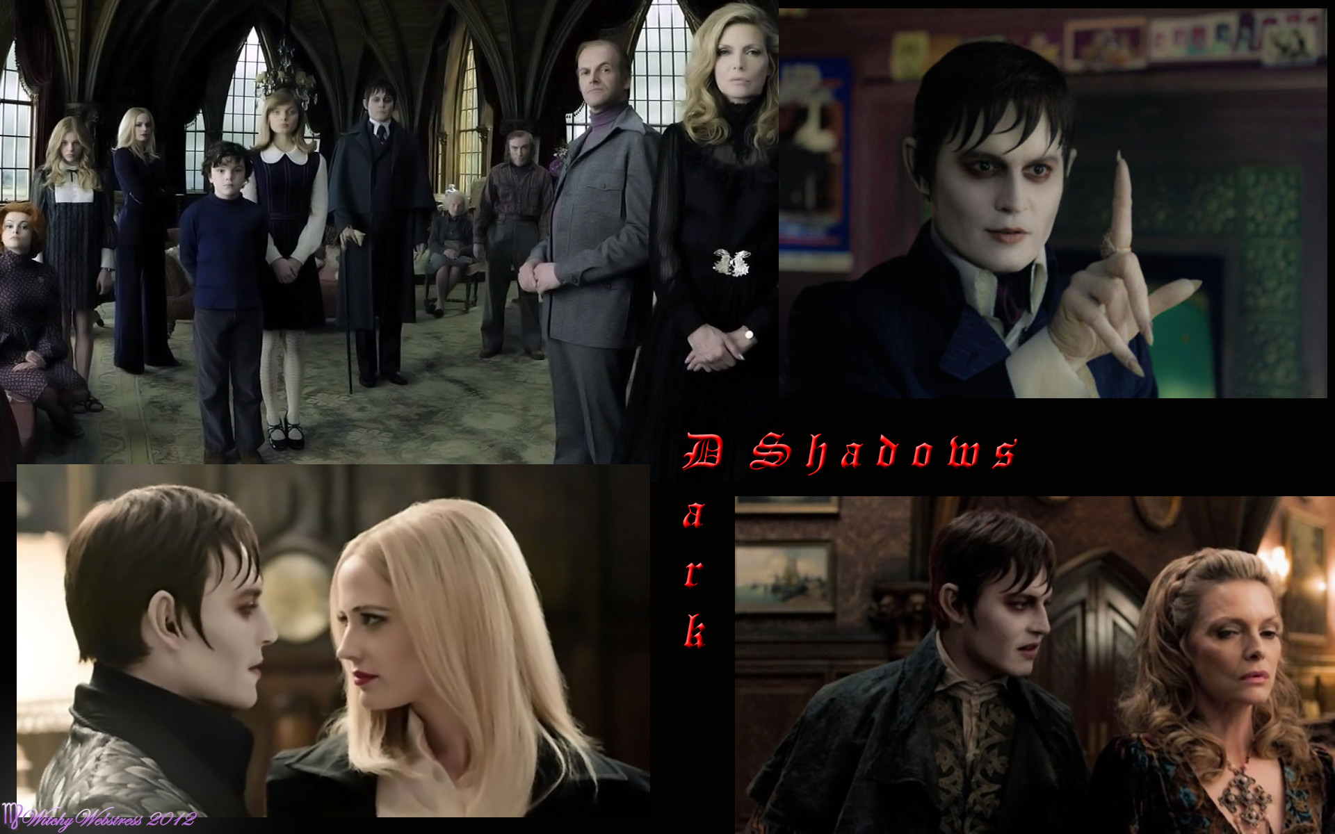 1920x1200 Tim Burton's Dark Shadows images Dark Shadows Teaser HD wallpaper and  background photos