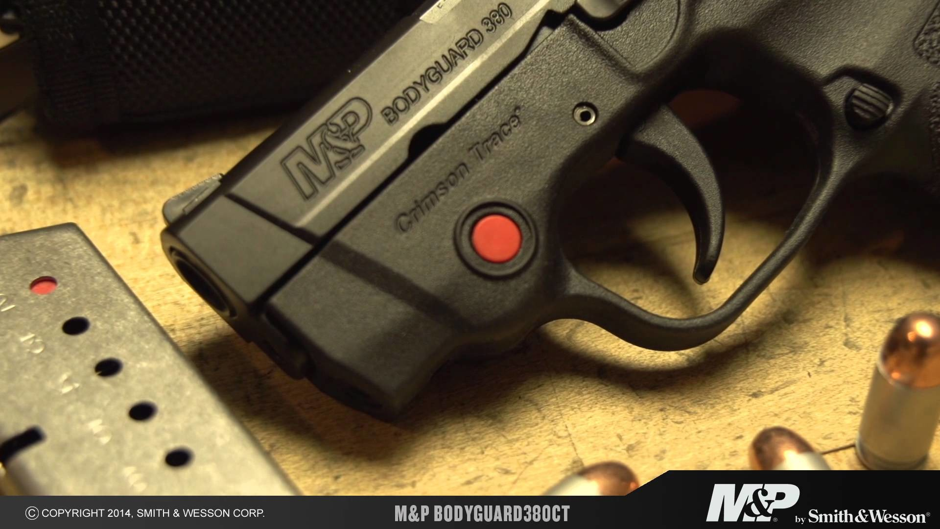 1920x1080 Smith & Wesson Intros New M&P BODYGUARD Handguns with Crimson Trace Laser  Sights