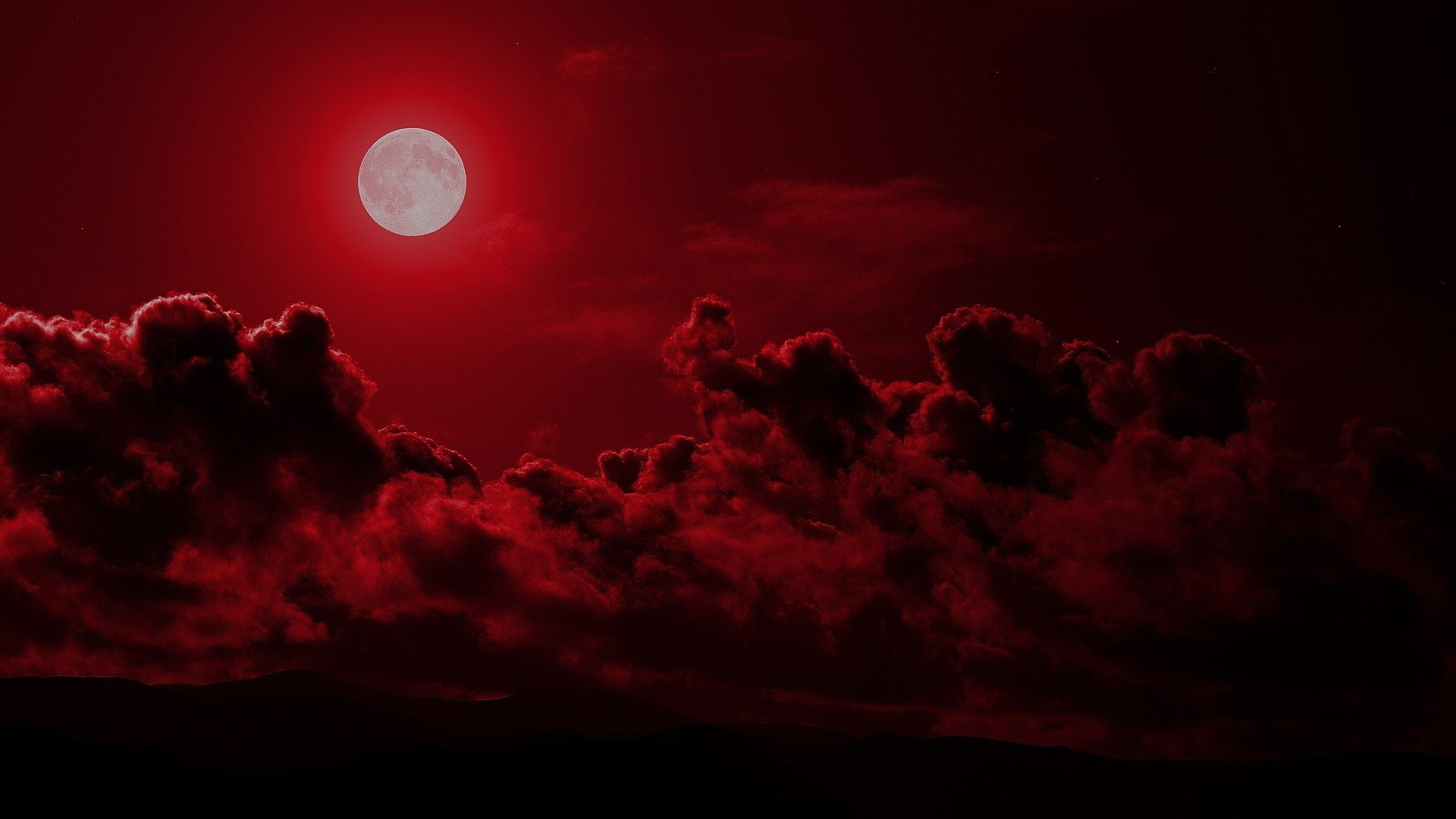 Red Moon Wallpaper: Blood Red Moon Wallpaper (55+ Images