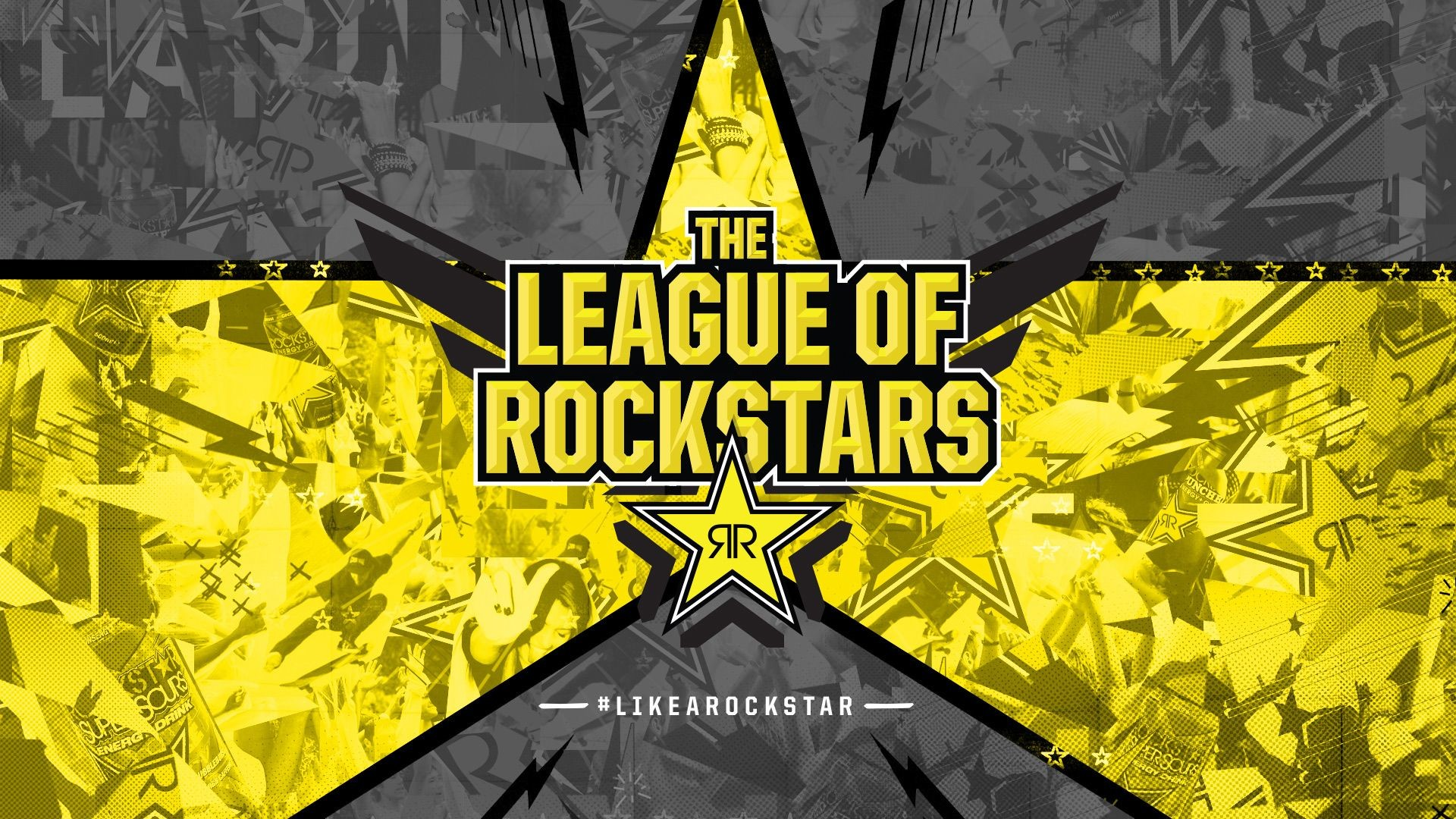1920x1080 The League of Rockstars | Rockstar Energy | Pinterest