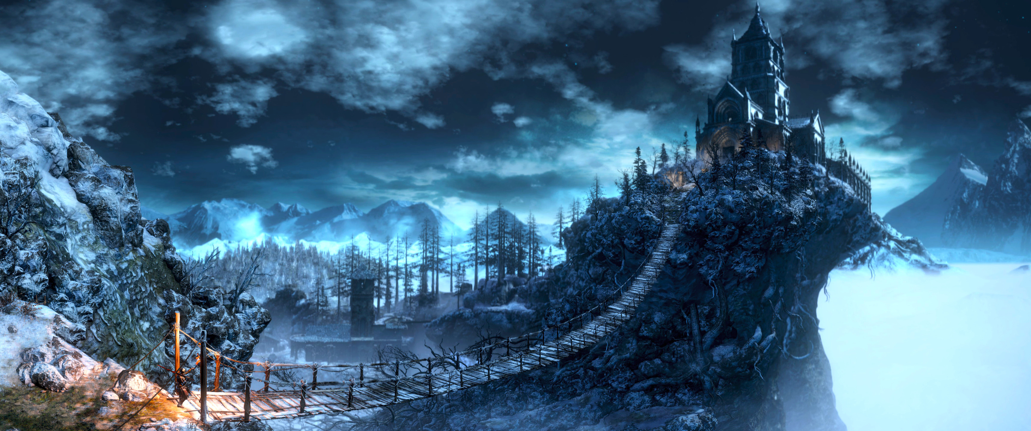 Dual Screen Hd Fantasy Wallpapers Get Your Fix Here: 3440x1440 HD Wallpaper (72+ Images