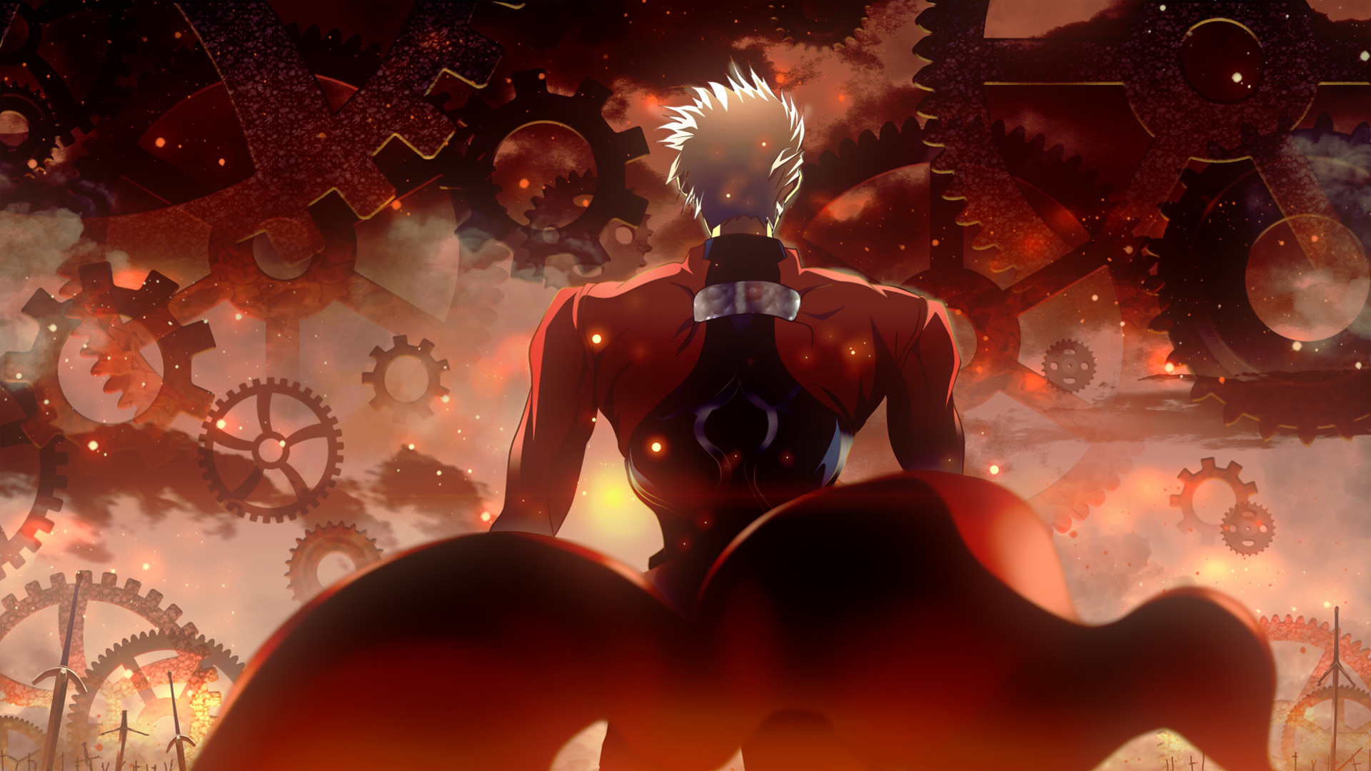 1920x1080 Anime - Fate/Stay Night: Unlimited Blade Works Archer (Fate/Stay Night