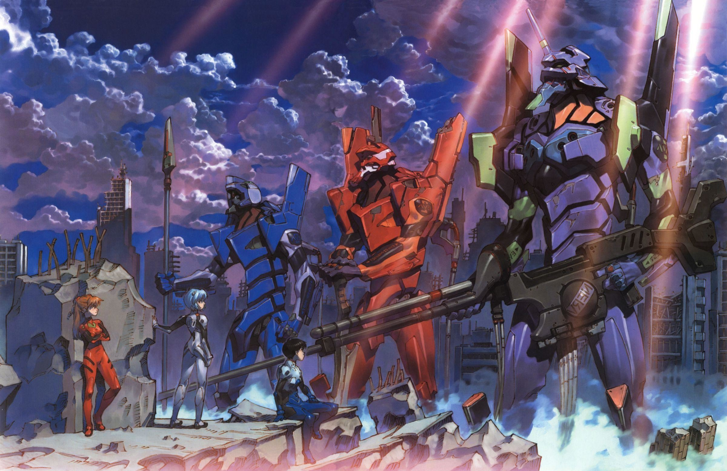 2400x1555 ... Neon Genesis Evangelion High Quality Wallpapers |  Background  Images ...