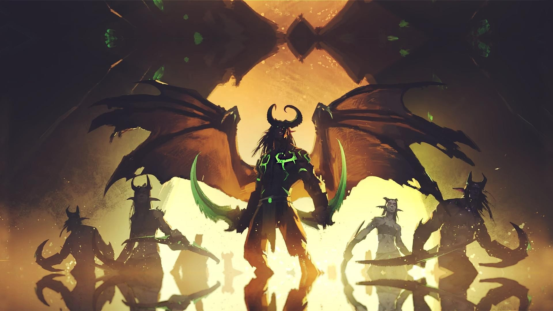1920x1080 Demon Hunter World Of Warcraft WoW Wallpapers HD Desktop And