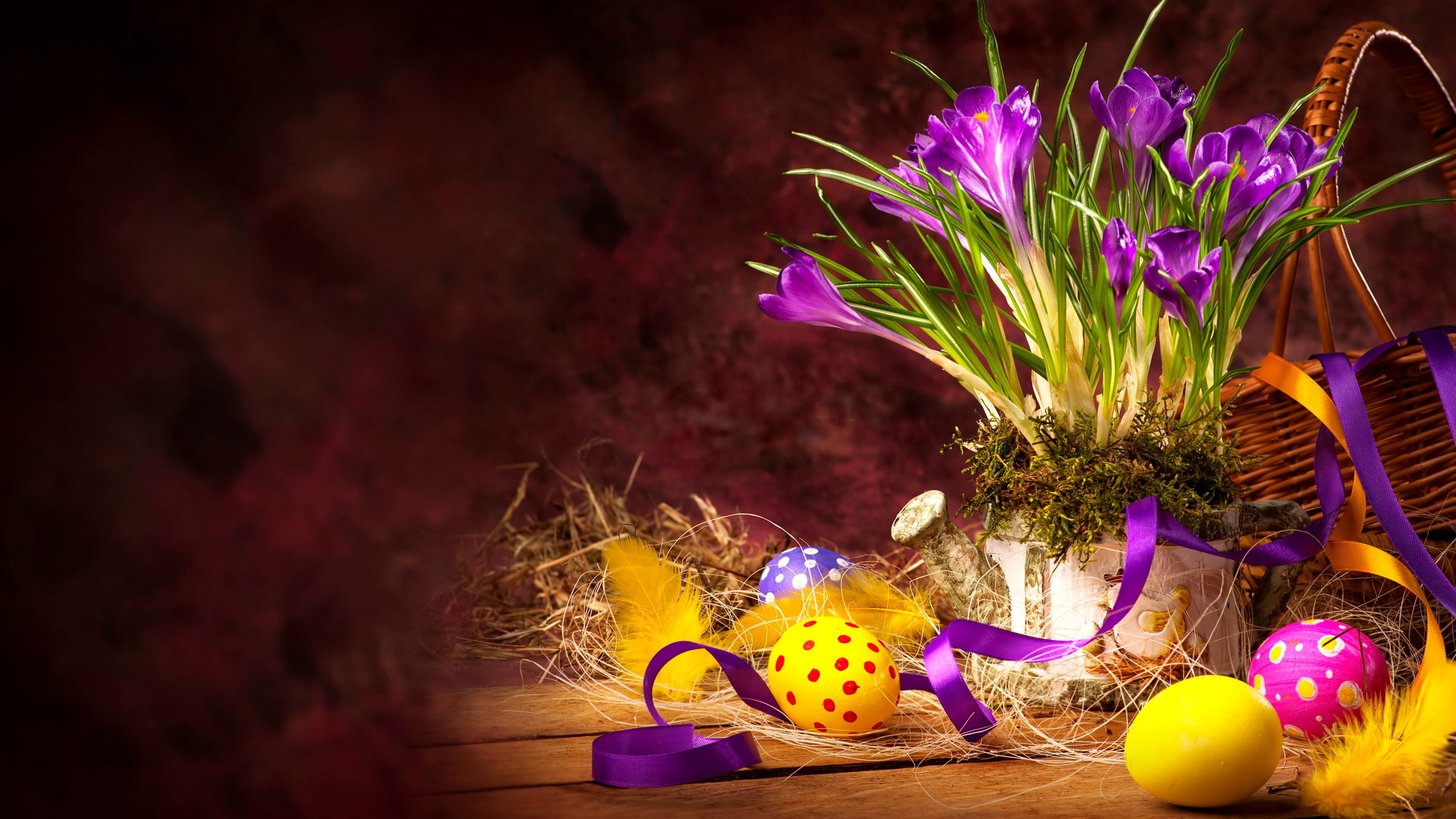 2560x1440  Hd Happy Easter Wallpaper Download Free PX ~ 3d Easter .