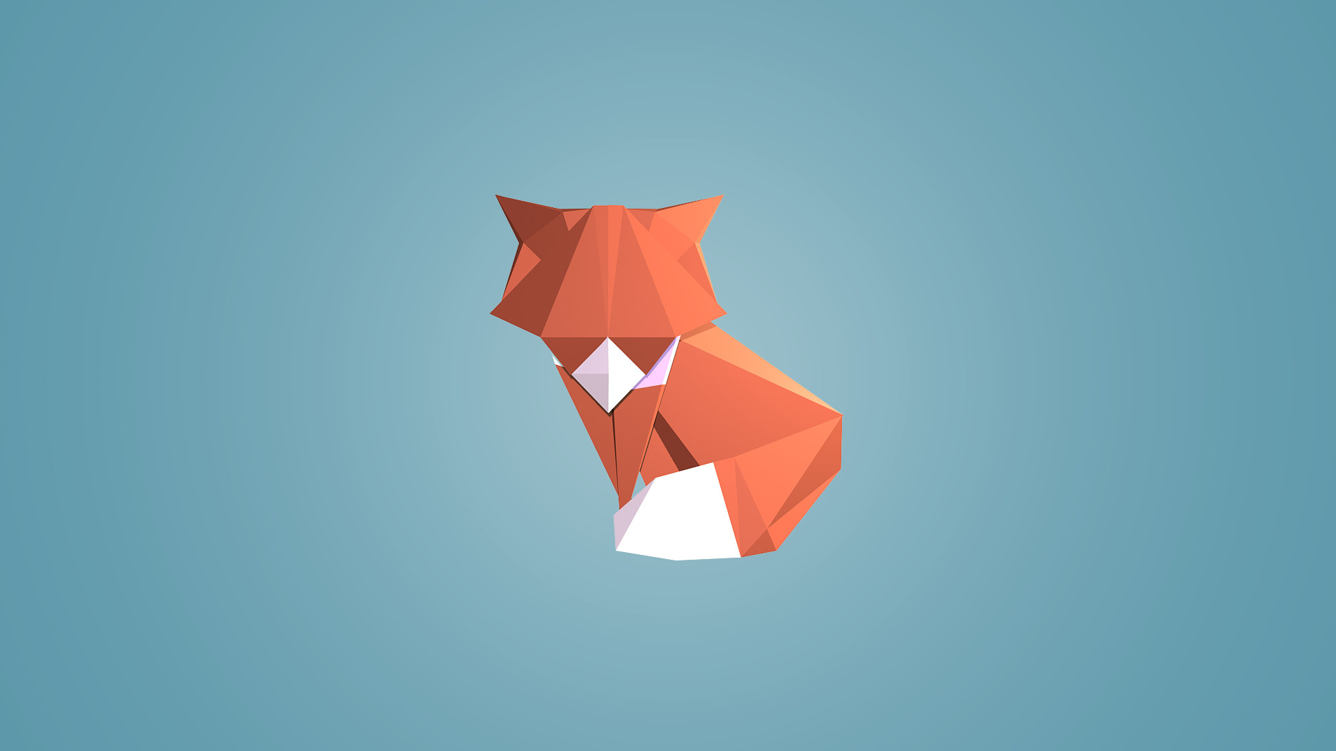 1920x1080 Abstract Geometric Colored Shapes Desktop PC And Mac Wallpaper