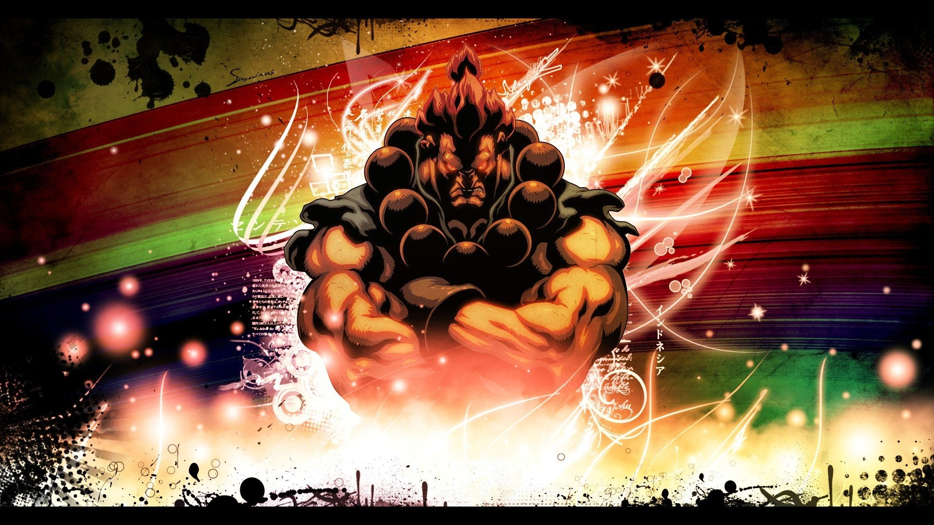 1920x1080 akuma street fighter background hd hd wallpapers desktop images free  windows wallpapers colourful 4k picture artwork lovely 1920×1080 Wallpaper  HD